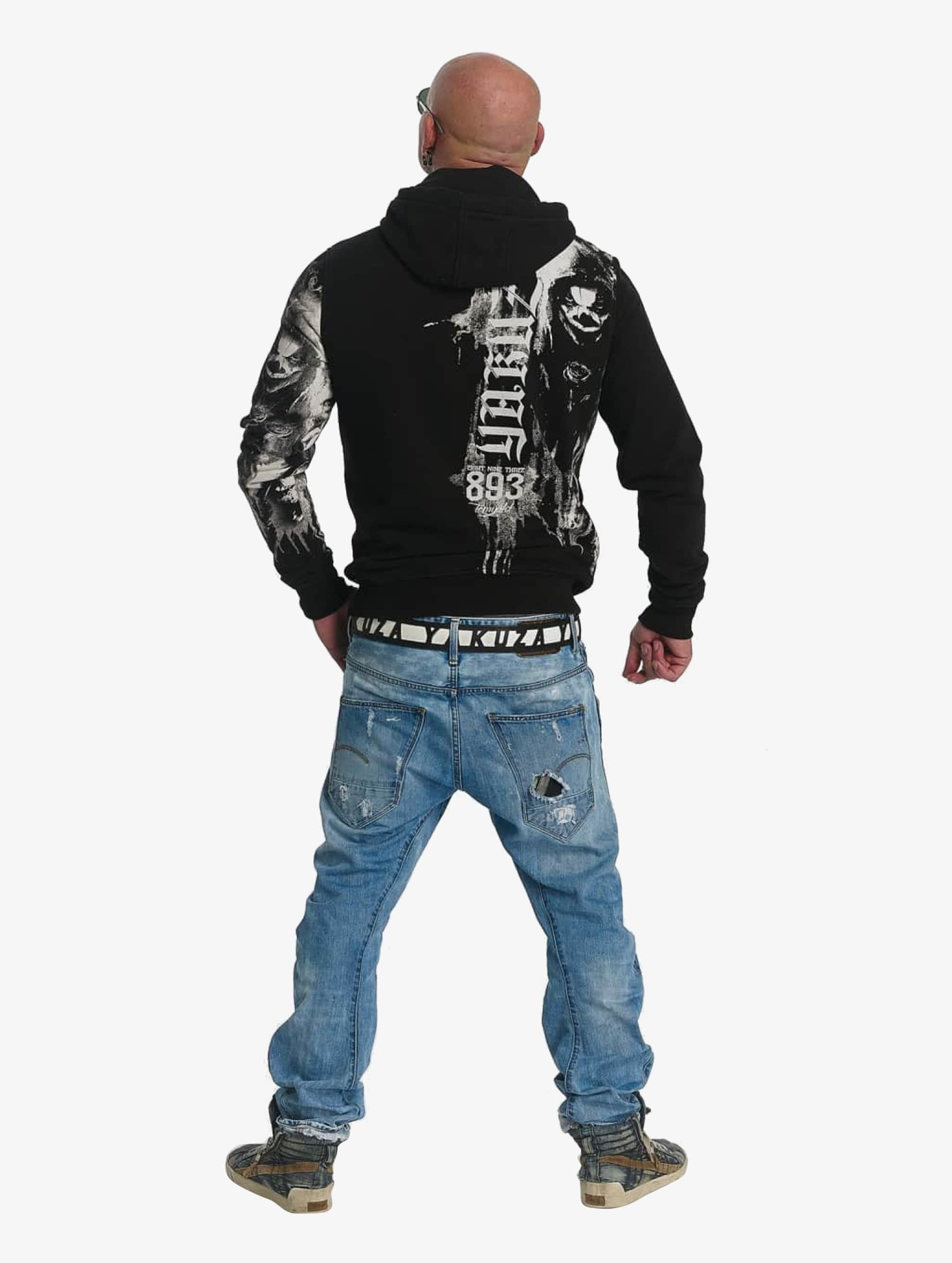 Yakuza Hoody Waiting Death schwarz
