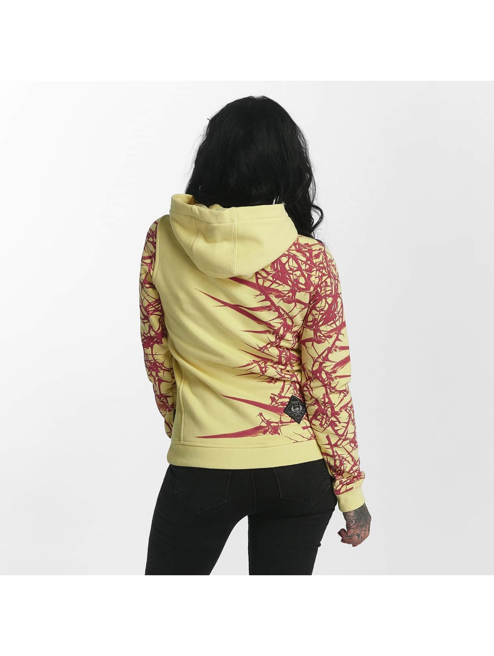 Yakuza Hupparit Thorns Flex keltainen