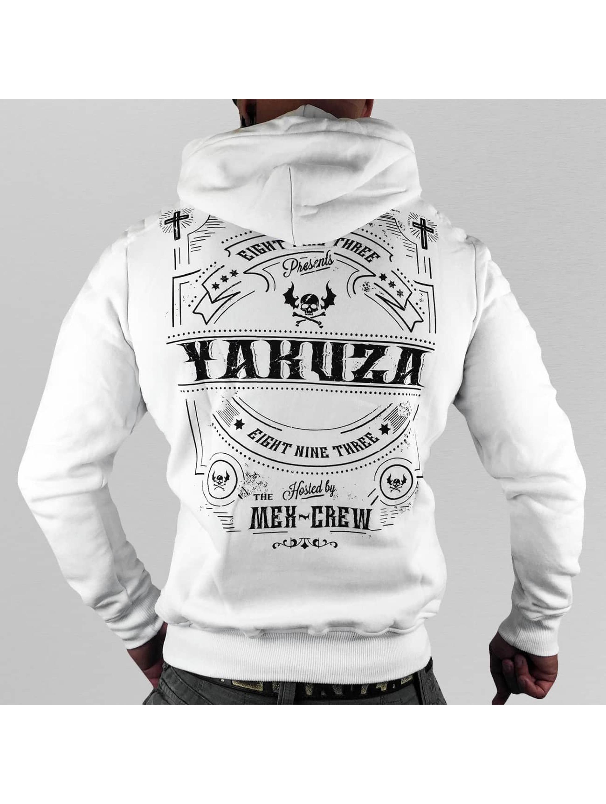 Yakuza Hupparit Mex-Crew valkoinen
