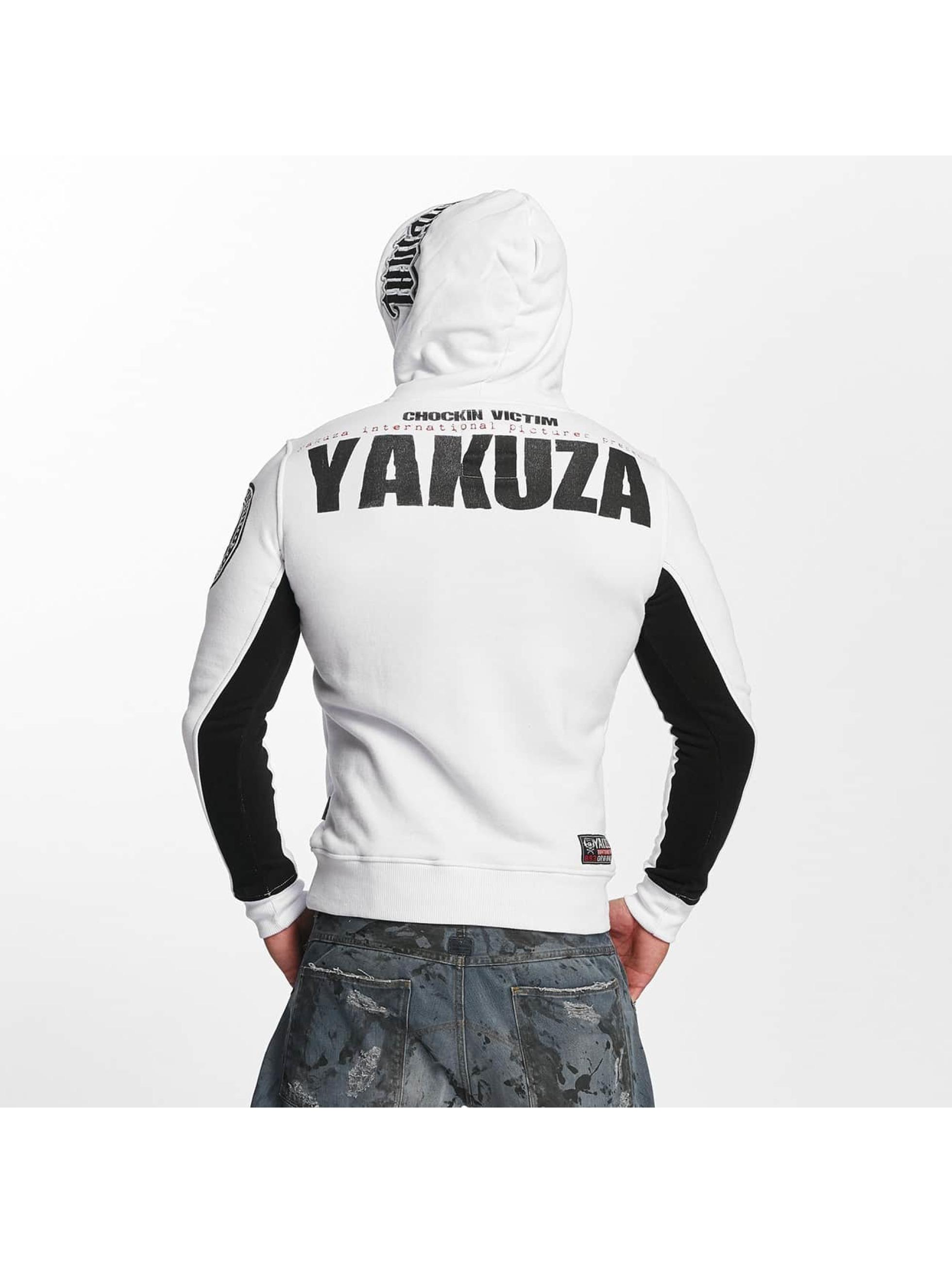 Yakuza Hupparit Chockin Victim valkoinen
