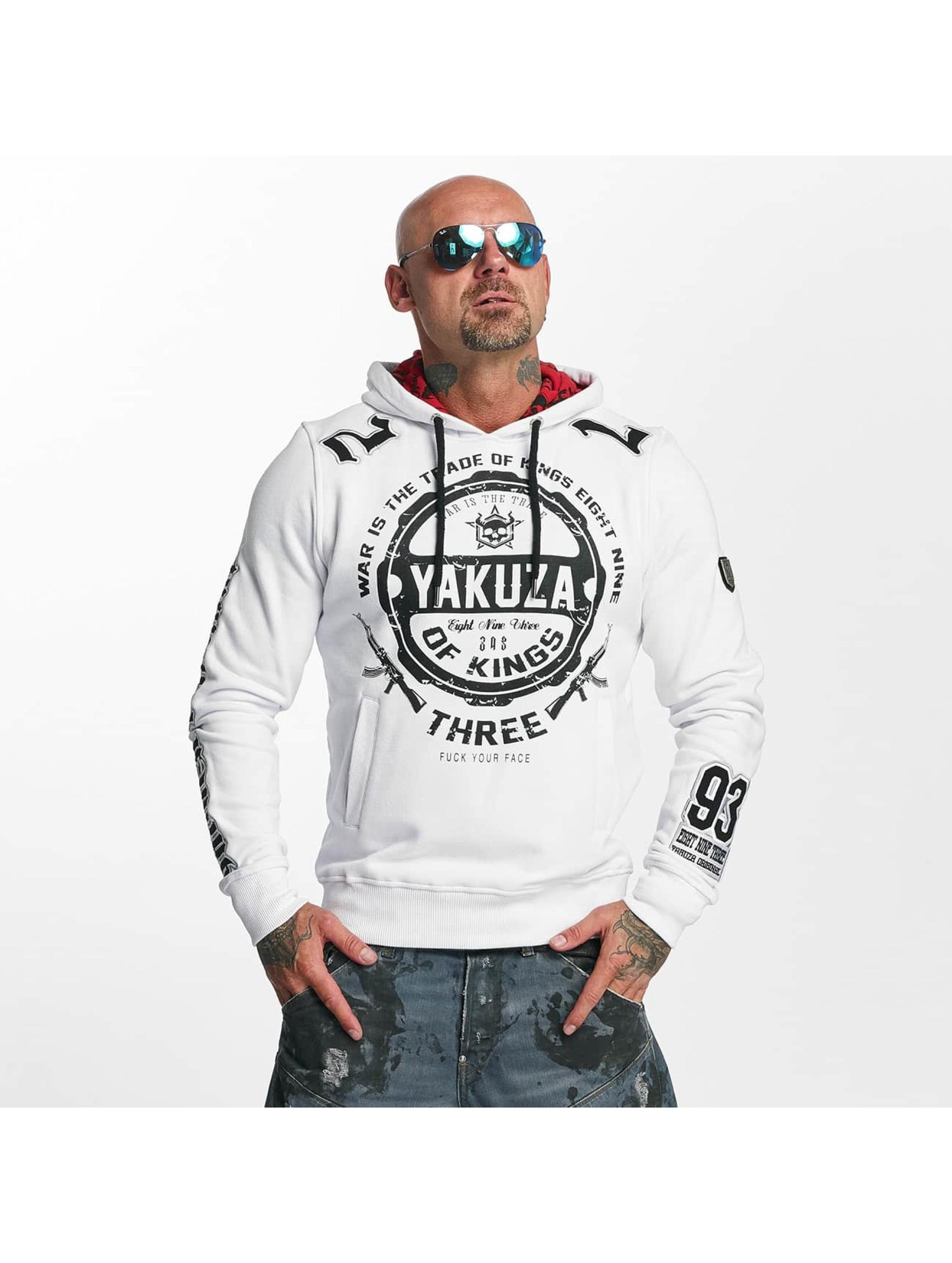 Yakuza Hupparit Trade Of Kings valkoinen