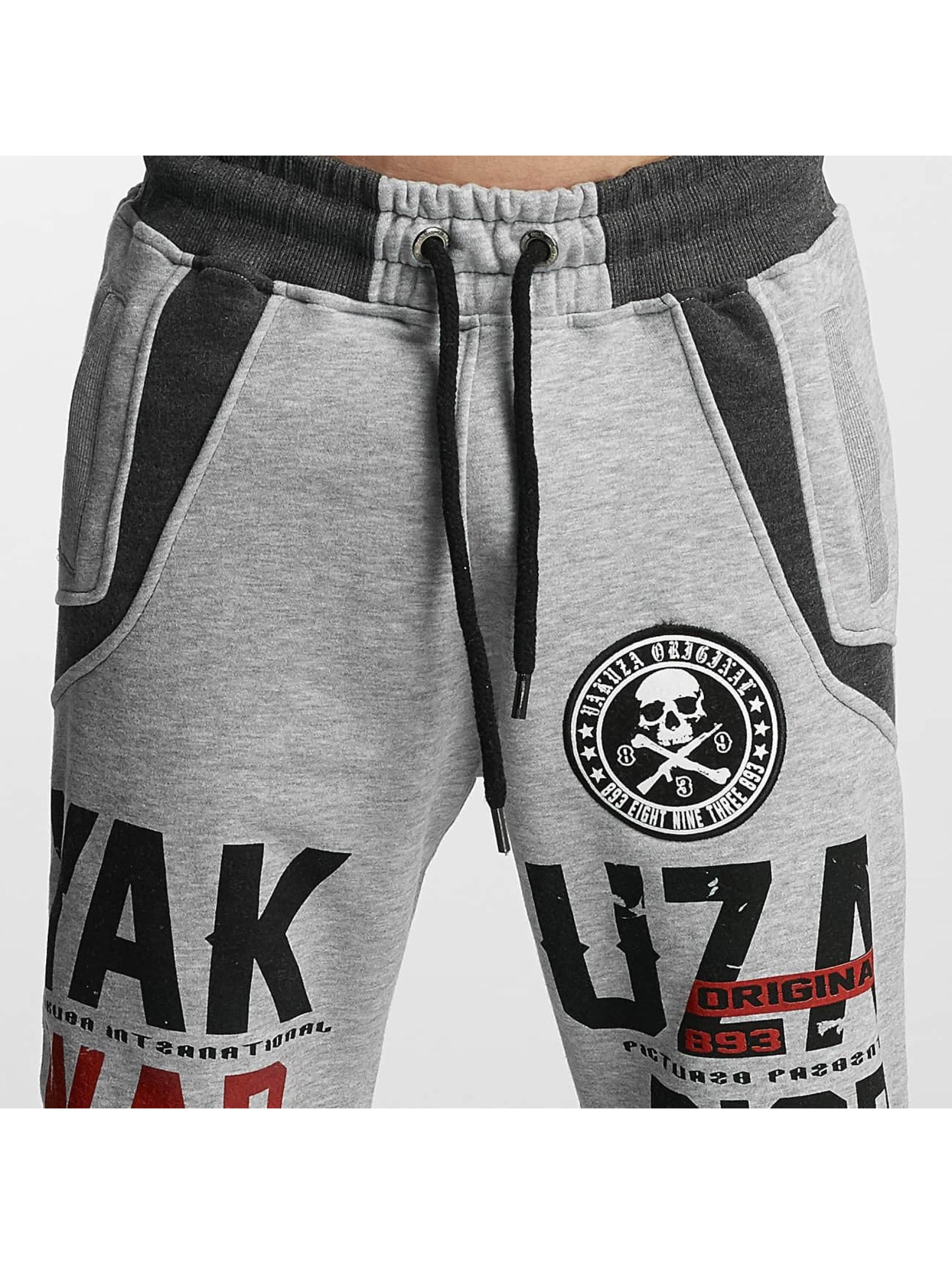 Yakuza joggingbroek Warrior grijs