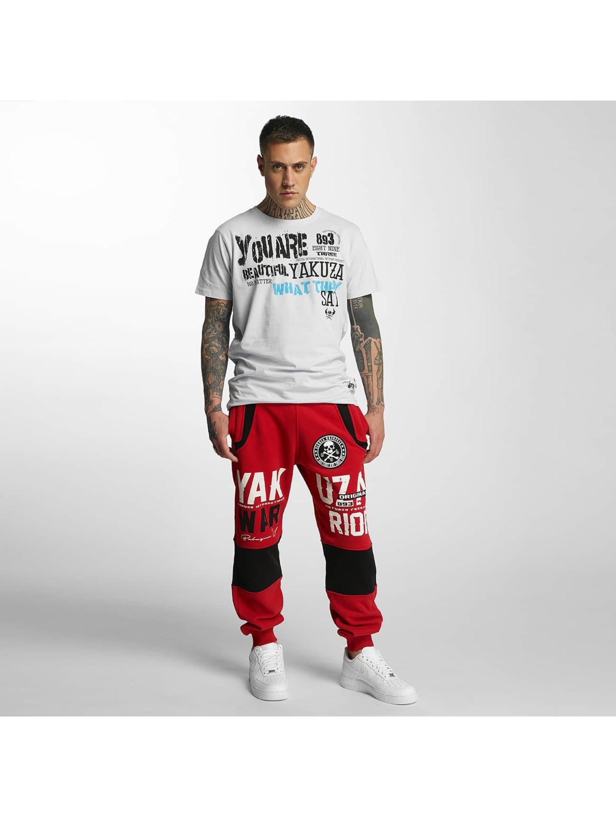 Yakuza joggingbroek Warrior rood