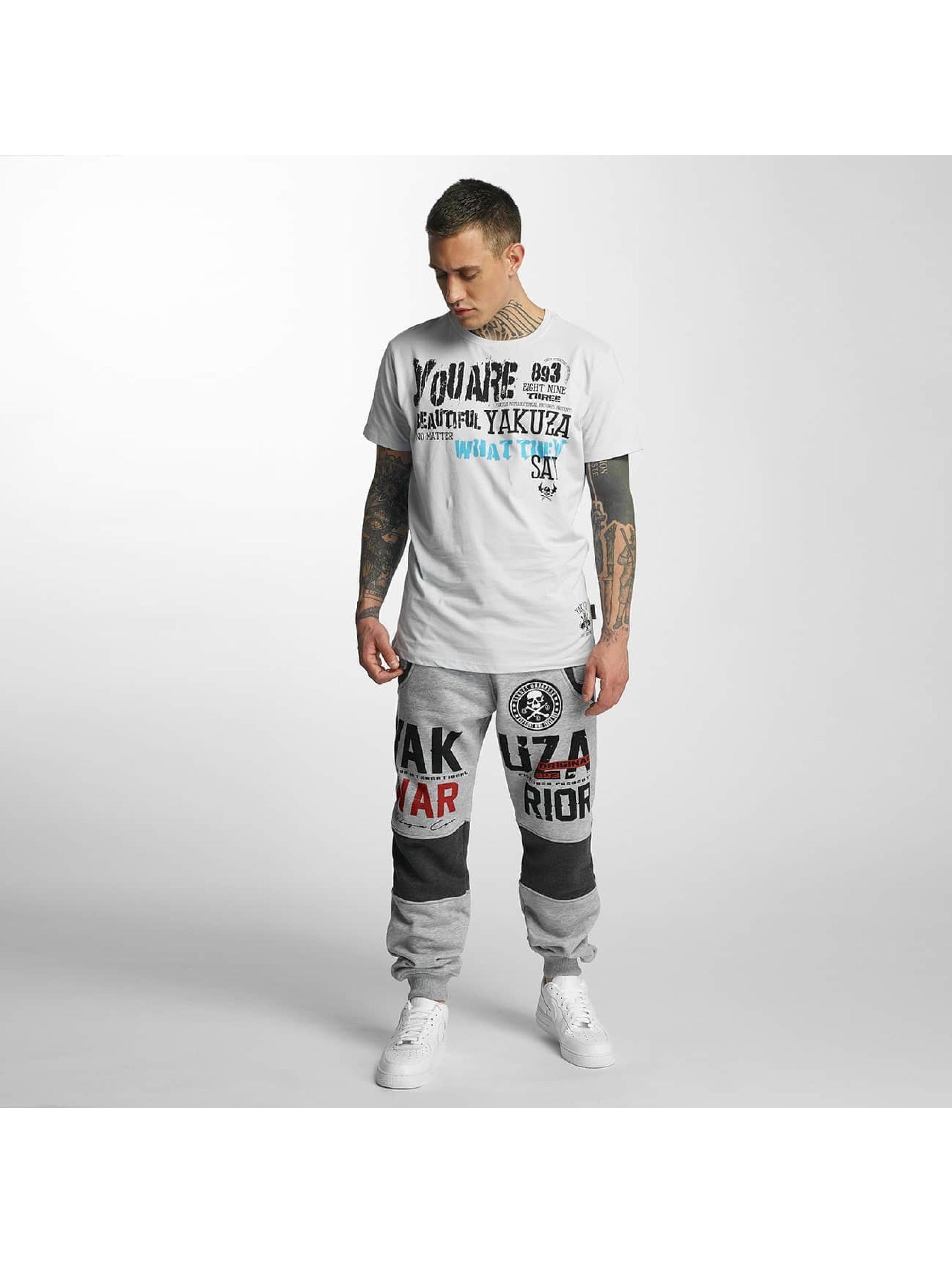 Yakuza Joggingbukser Warrior grå