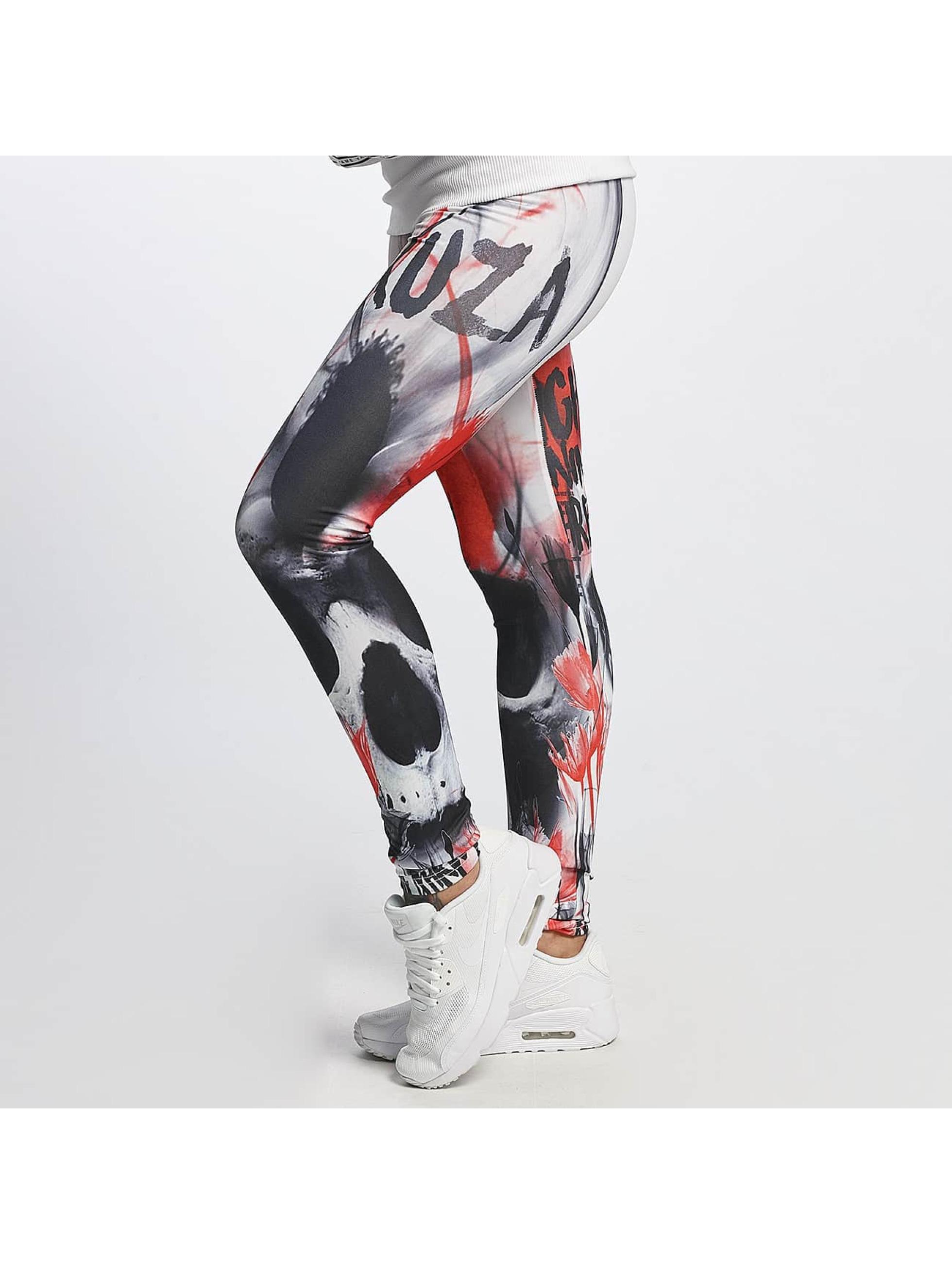 Yakuza Legging Skull multicolore