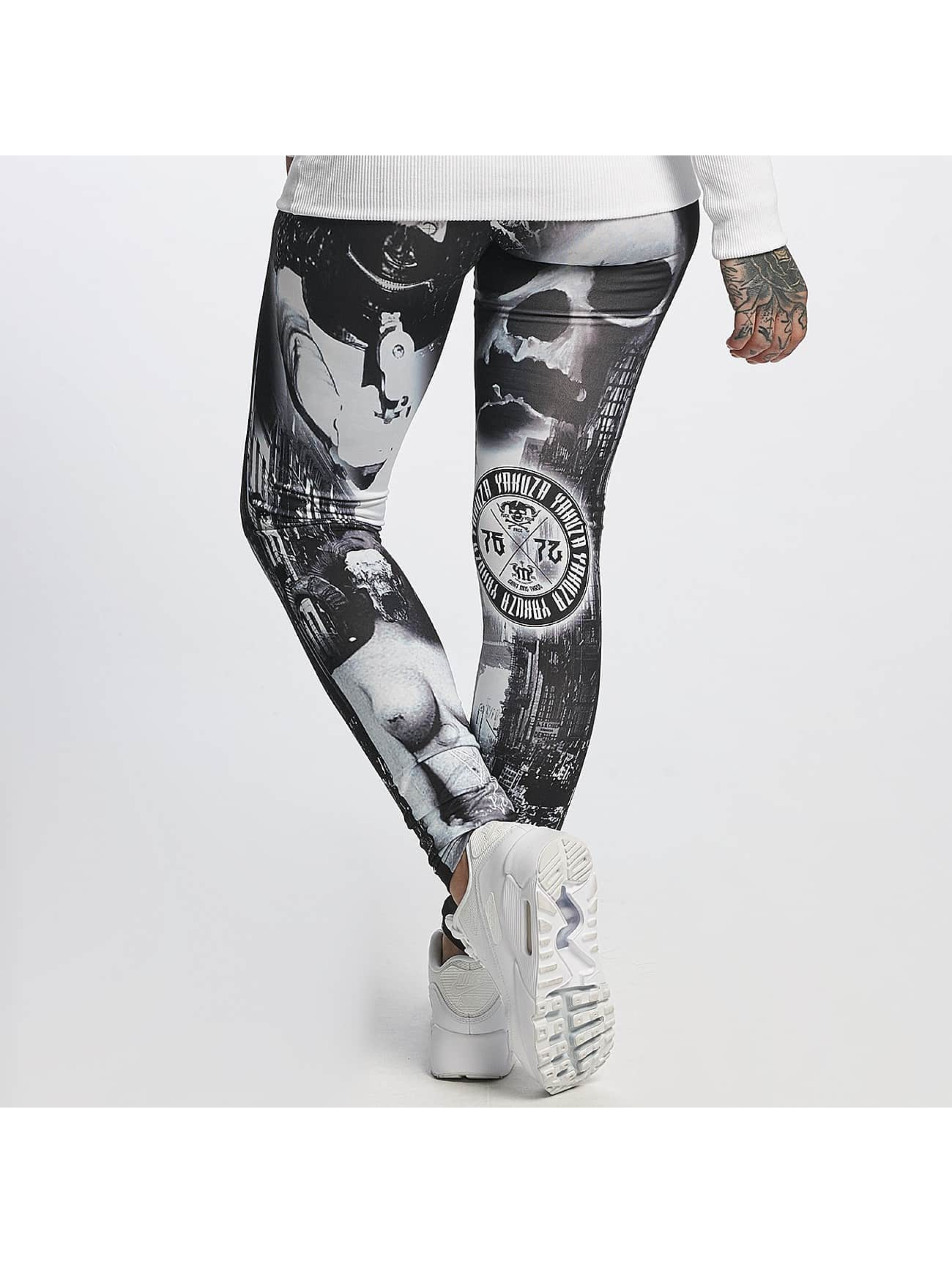 Yakuza Legging Lost City schwarz