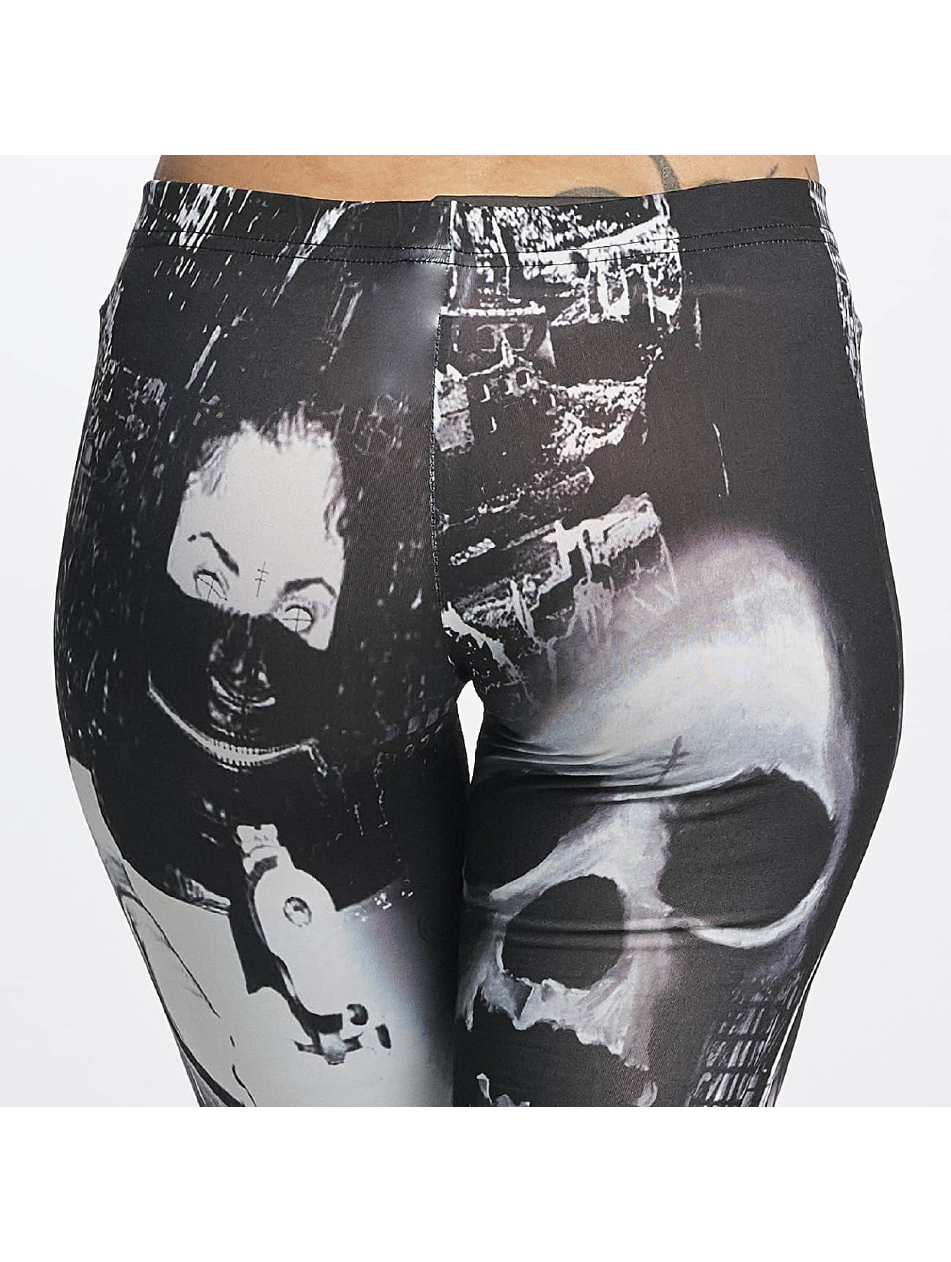 Yakuza Legging Lost City zwart