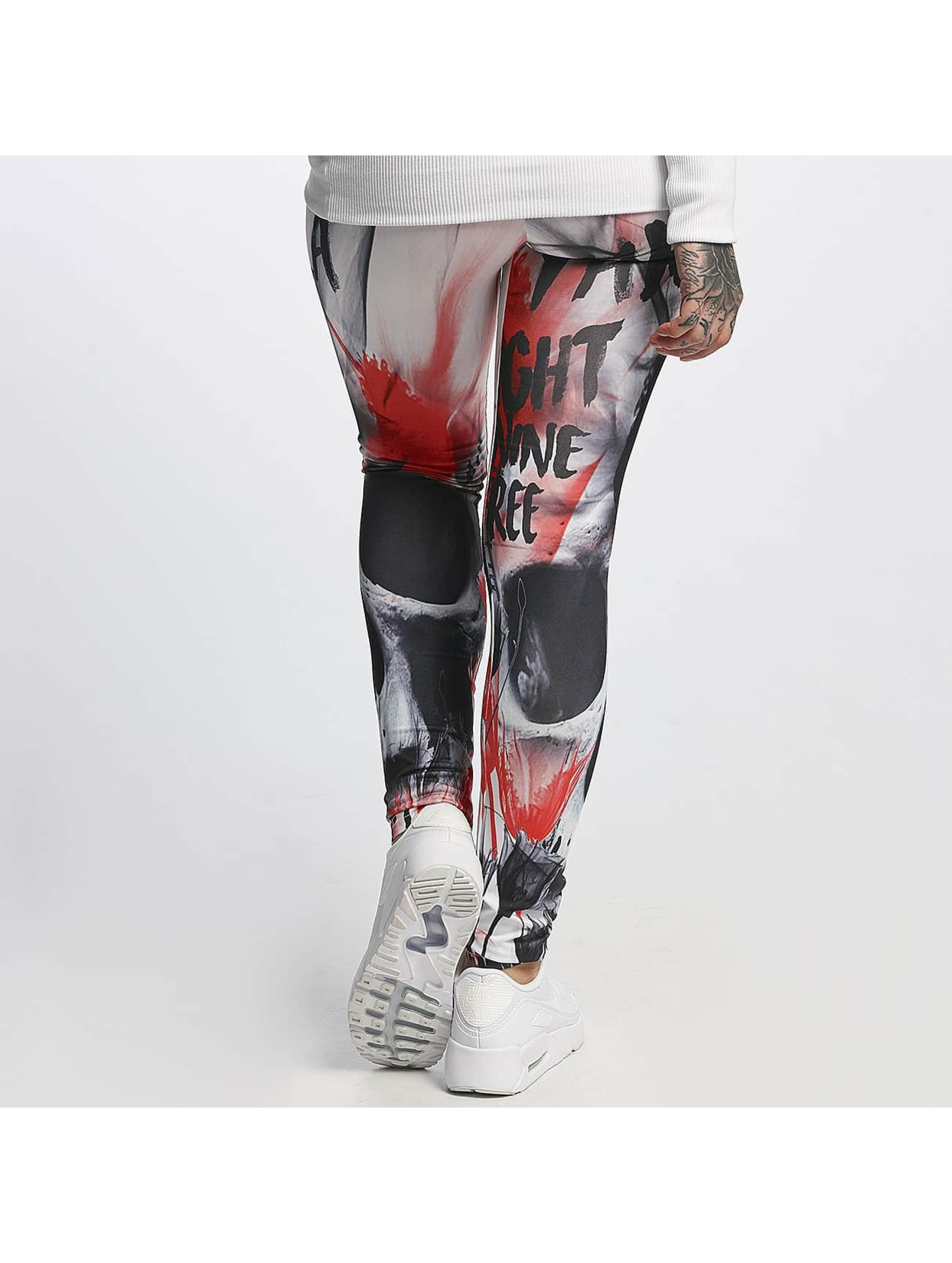 Yakuza Leggings Skull färgad