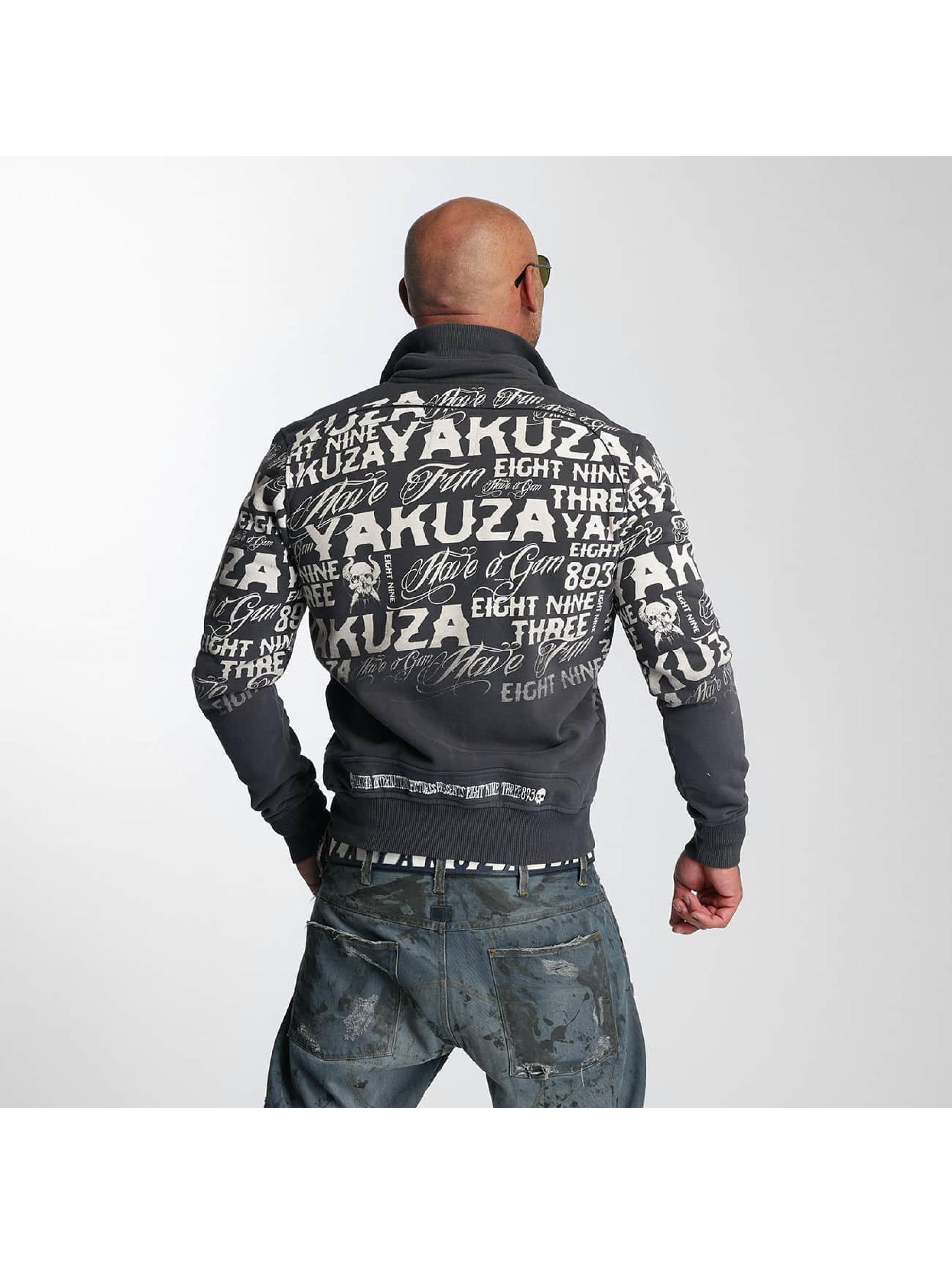 Yakuza Lightweight Jacket Allover Label blue
