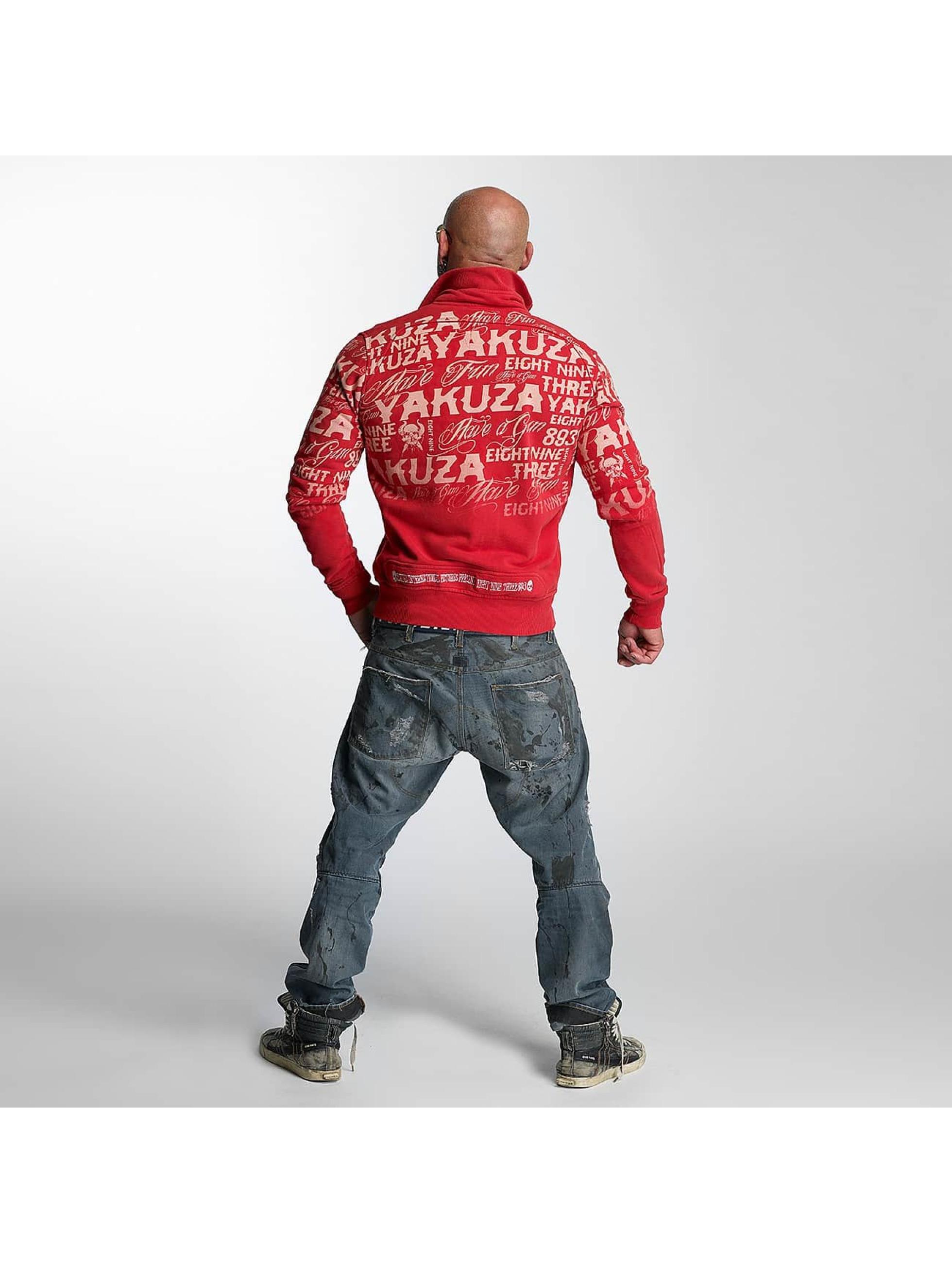 Yakuza Lightweight Jacket Allover Label red