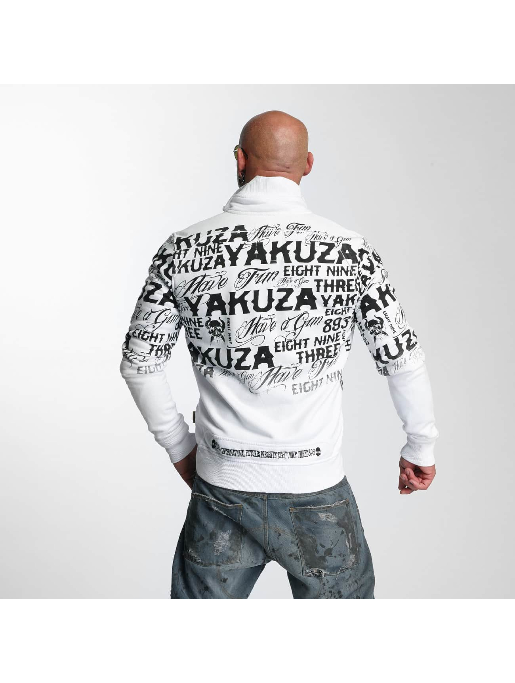 Yakuza Lightweight Jacket Allover Label white