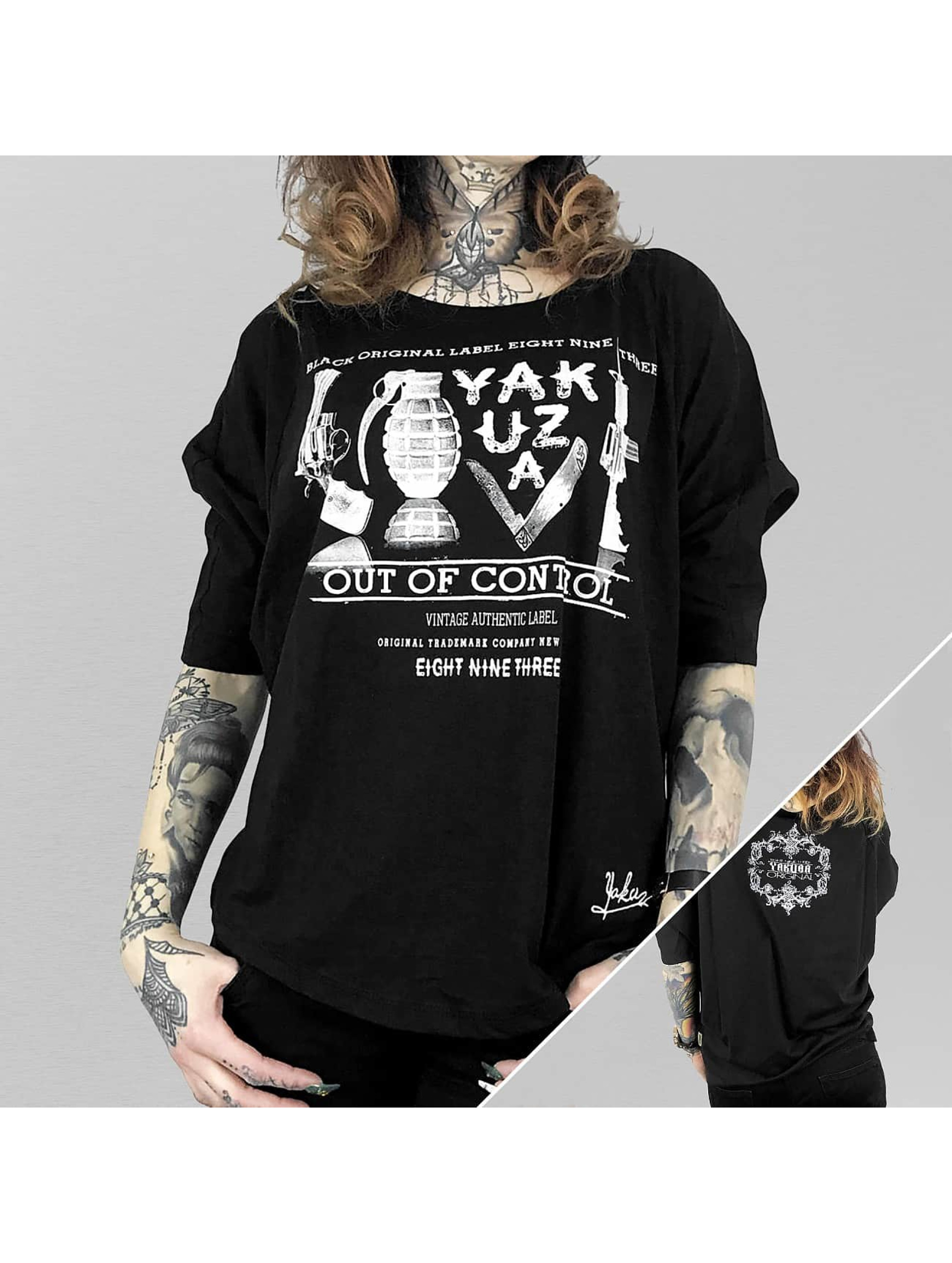 Yakuza Longsleeve Out Of Control black