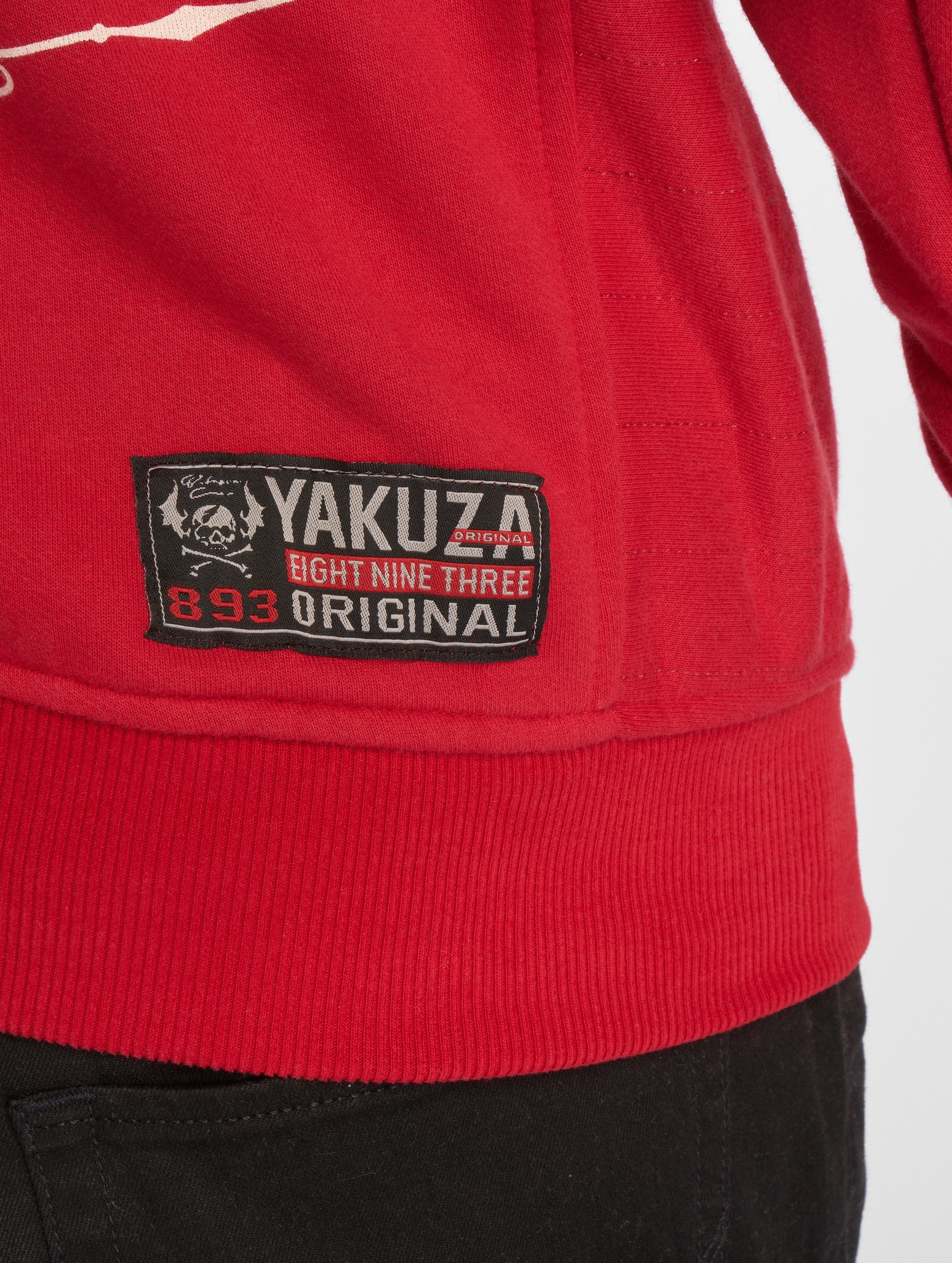 Yakuza Mikiny Undead èervená