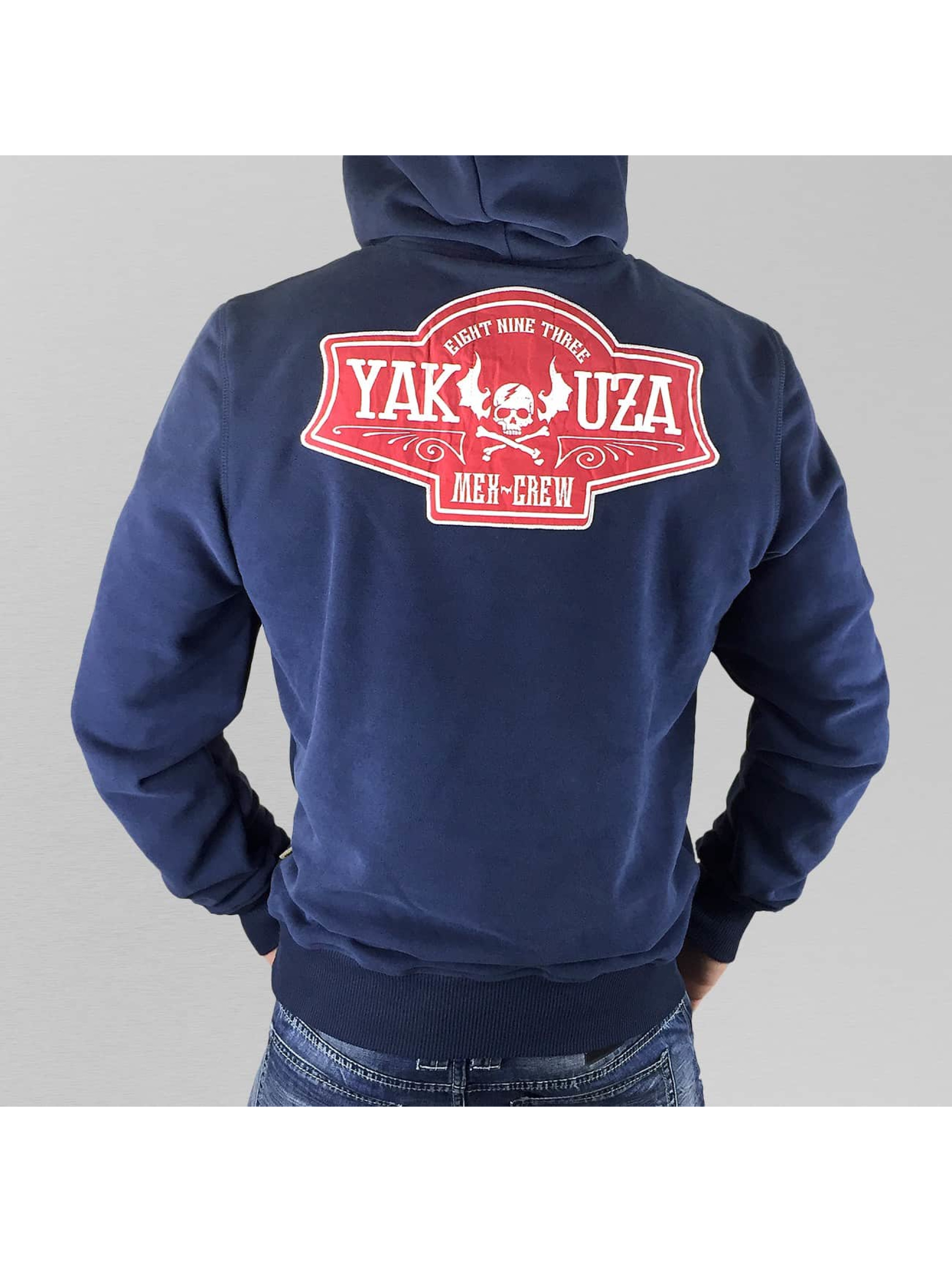 Yakuza Mikiny Mex-Crew VO2 indigo