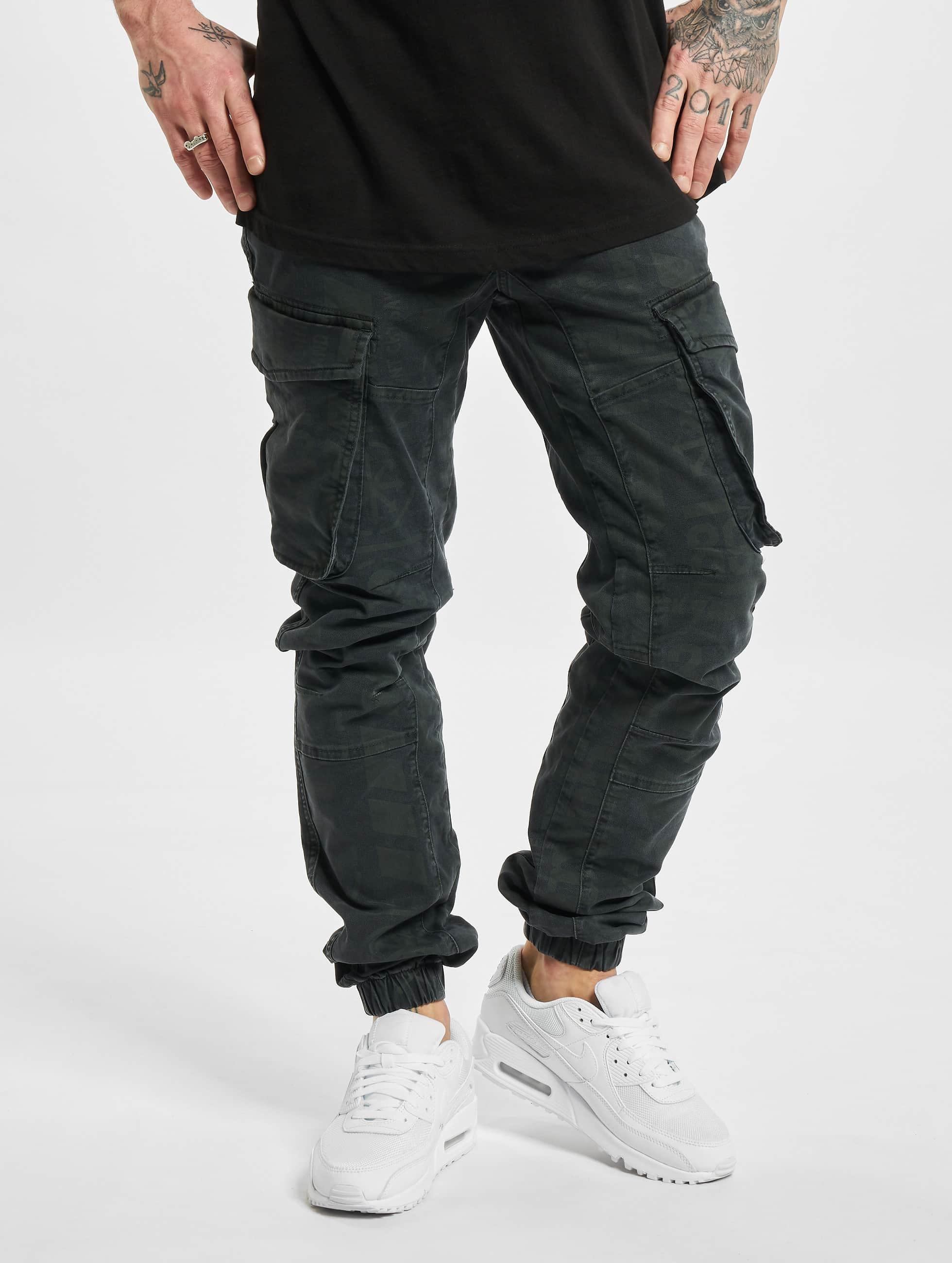 Yakuza Premium Pantalon De Training 3029 Noir S M L Xl 2xl 3xl tete de mort Jogger Messieurs