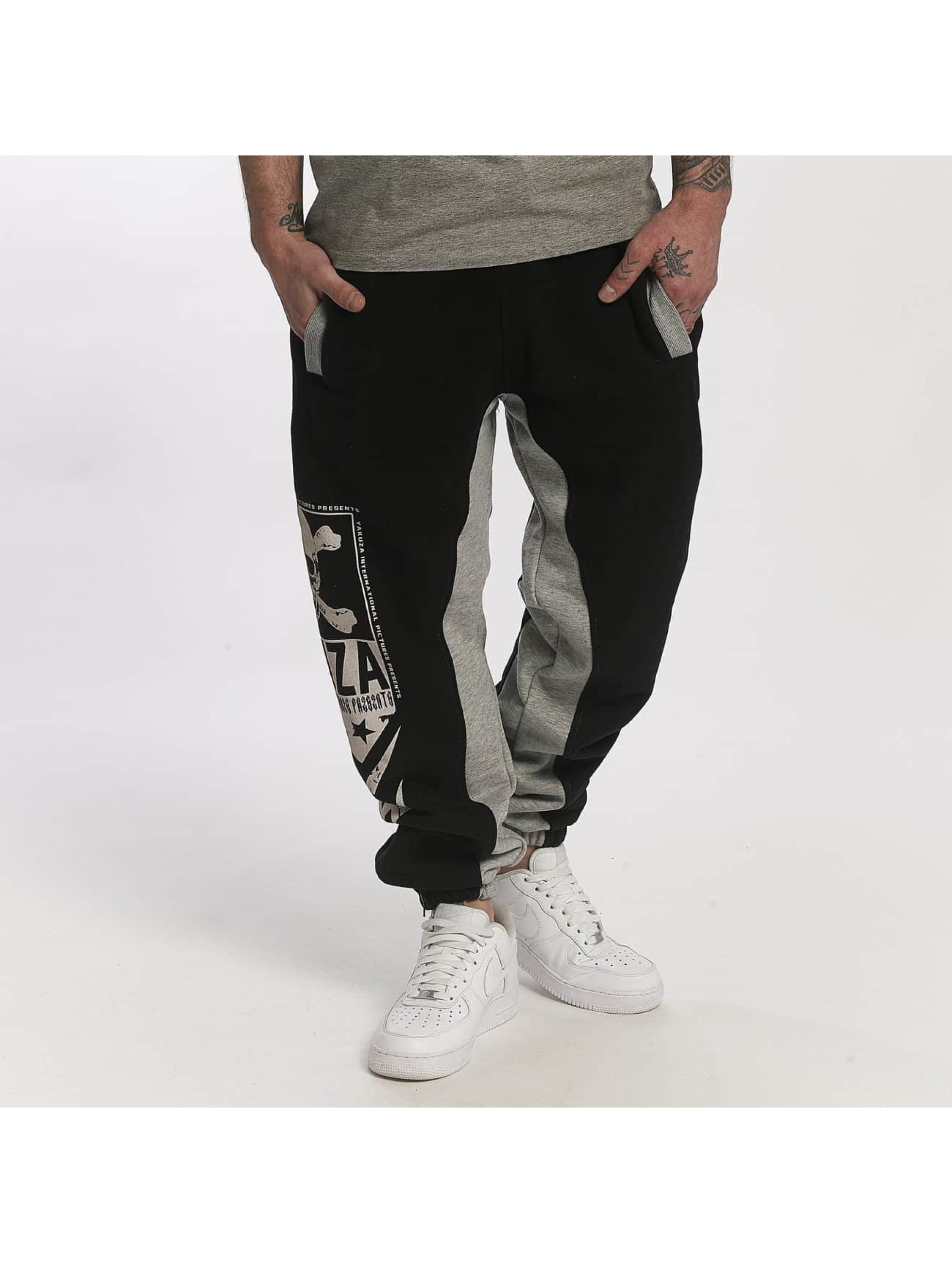 Yakuza Pantalone ginnico Two Face nero