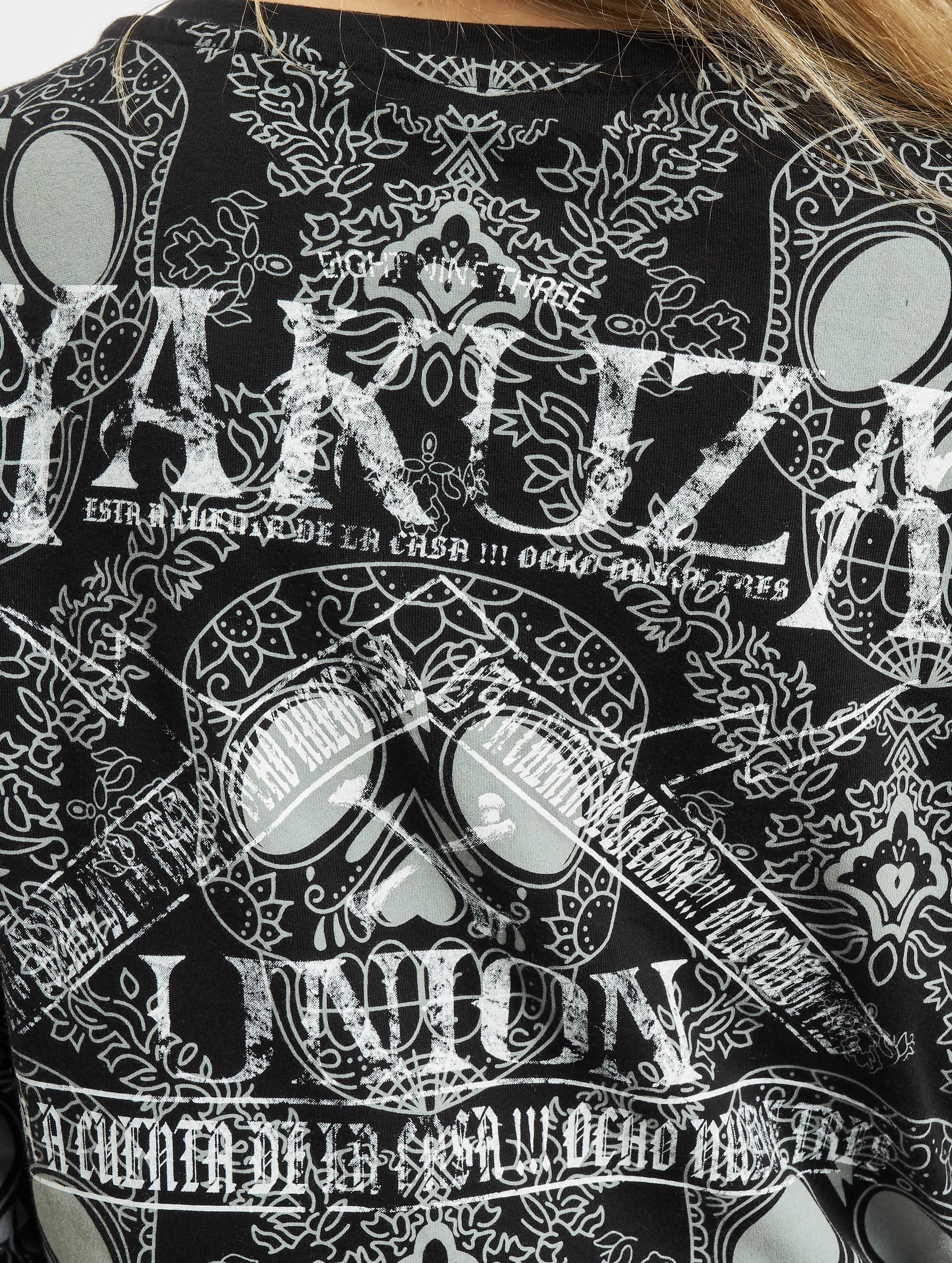 Yakuza Pitkähihaiset paidat Union harmaa