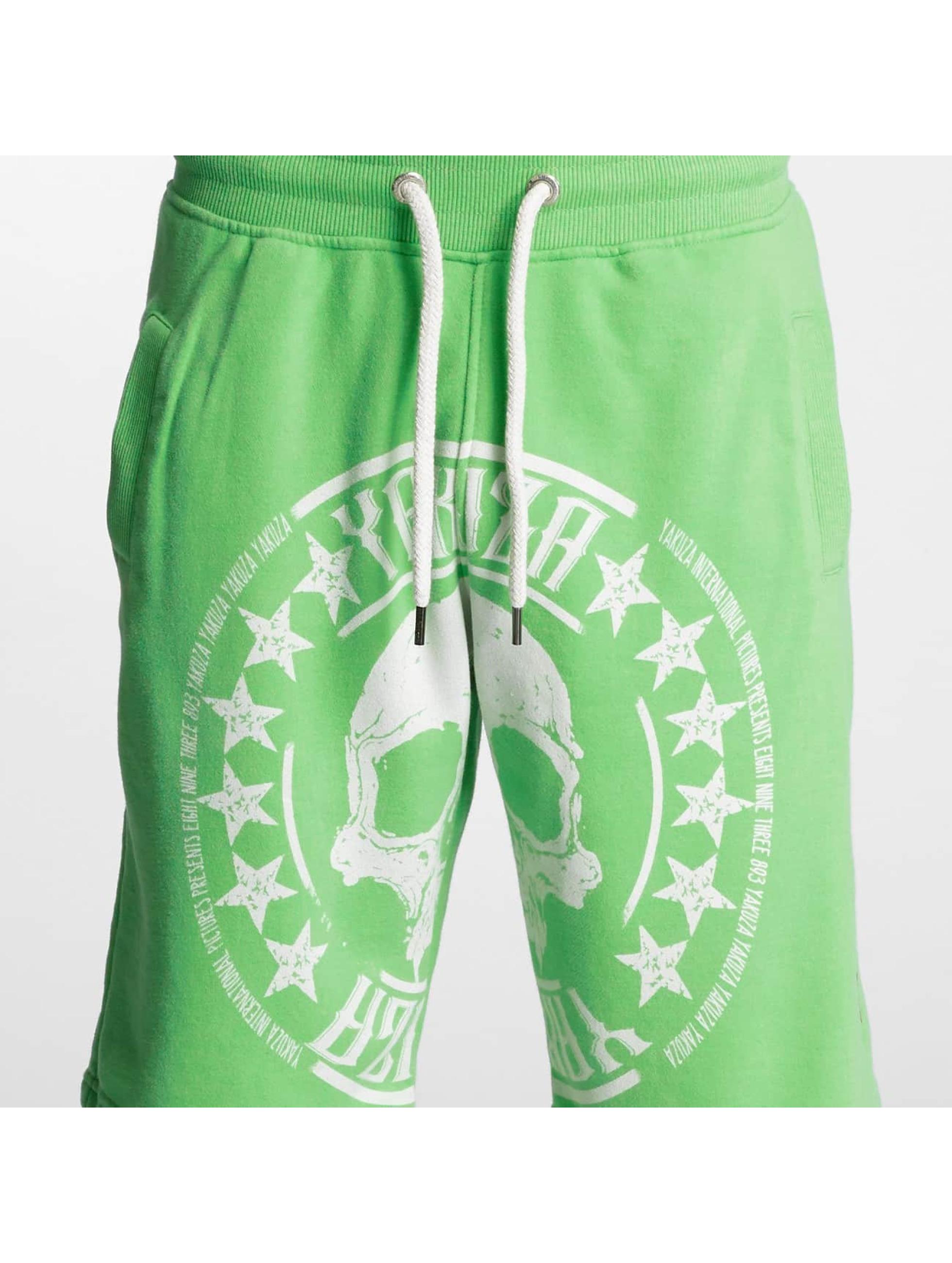Yakuza Short Skull Label green
