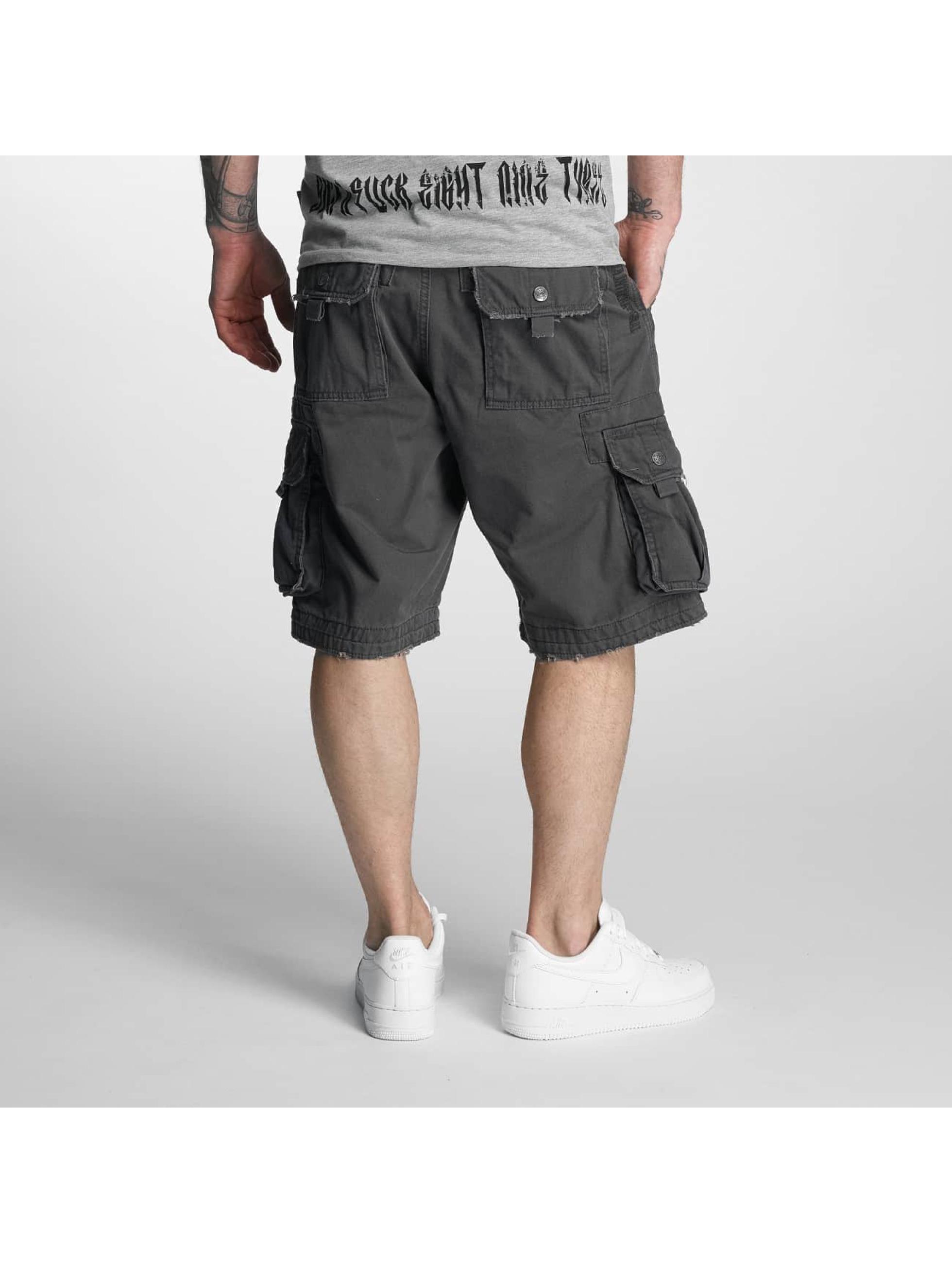 Yakuza Shorts Skull Label blå
