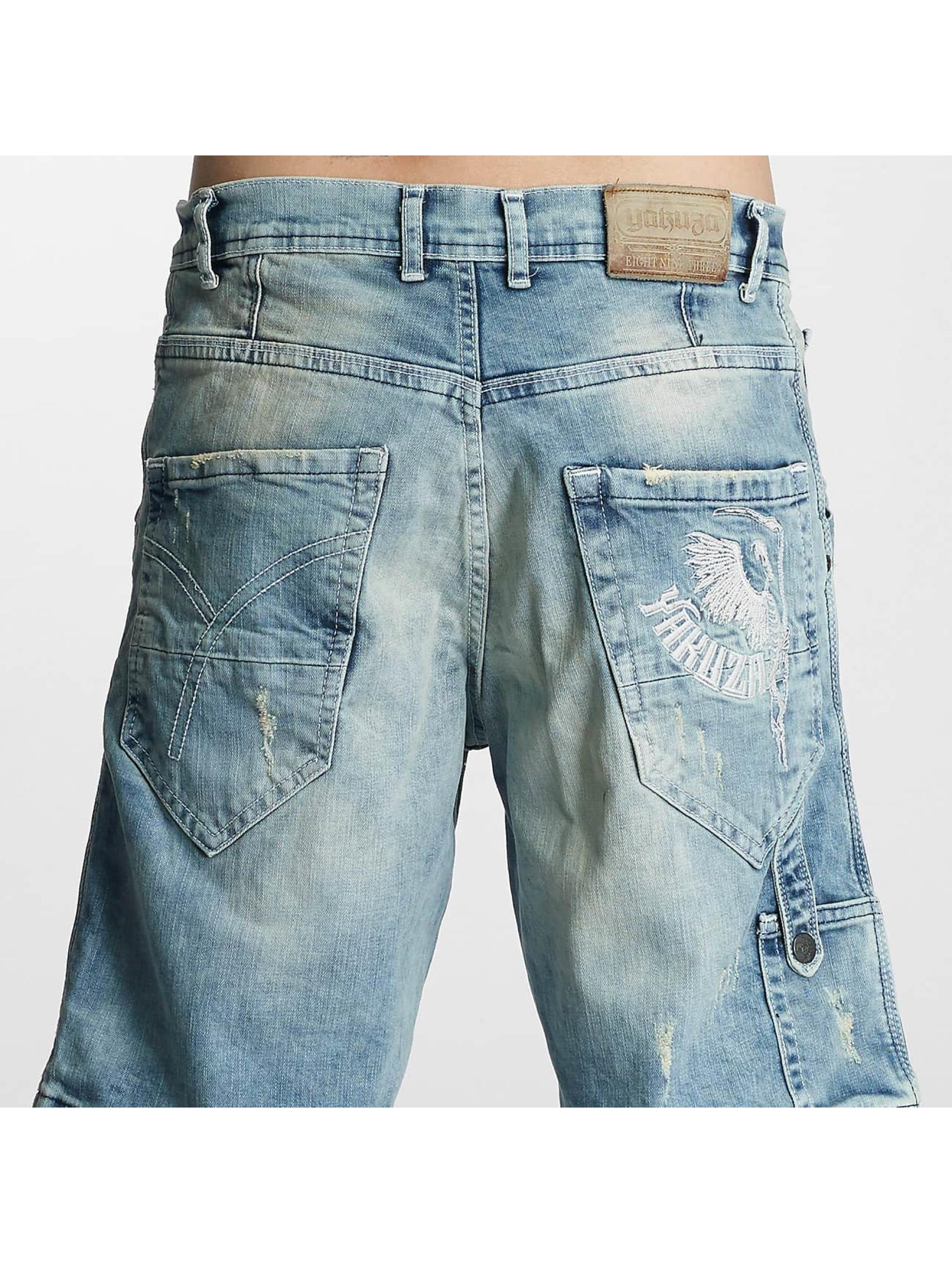 Yakuza Shorts Caught In A Circle blau