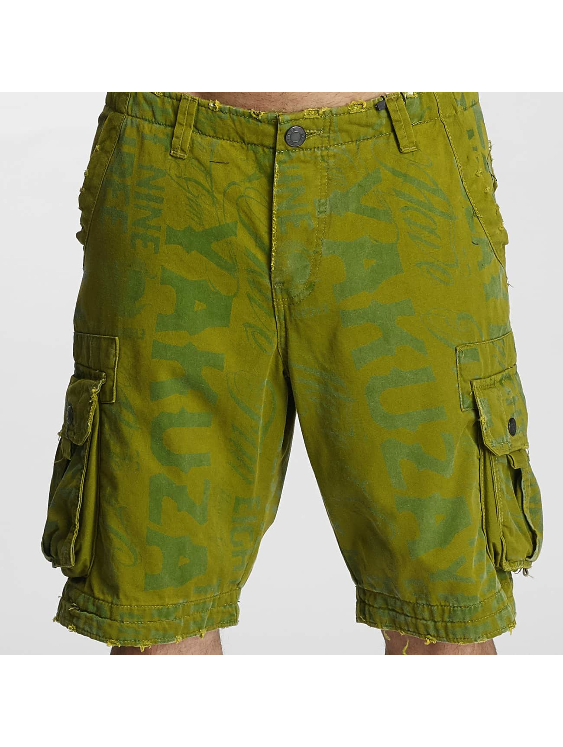 Yakuza Shorts Allover Cargo grøn