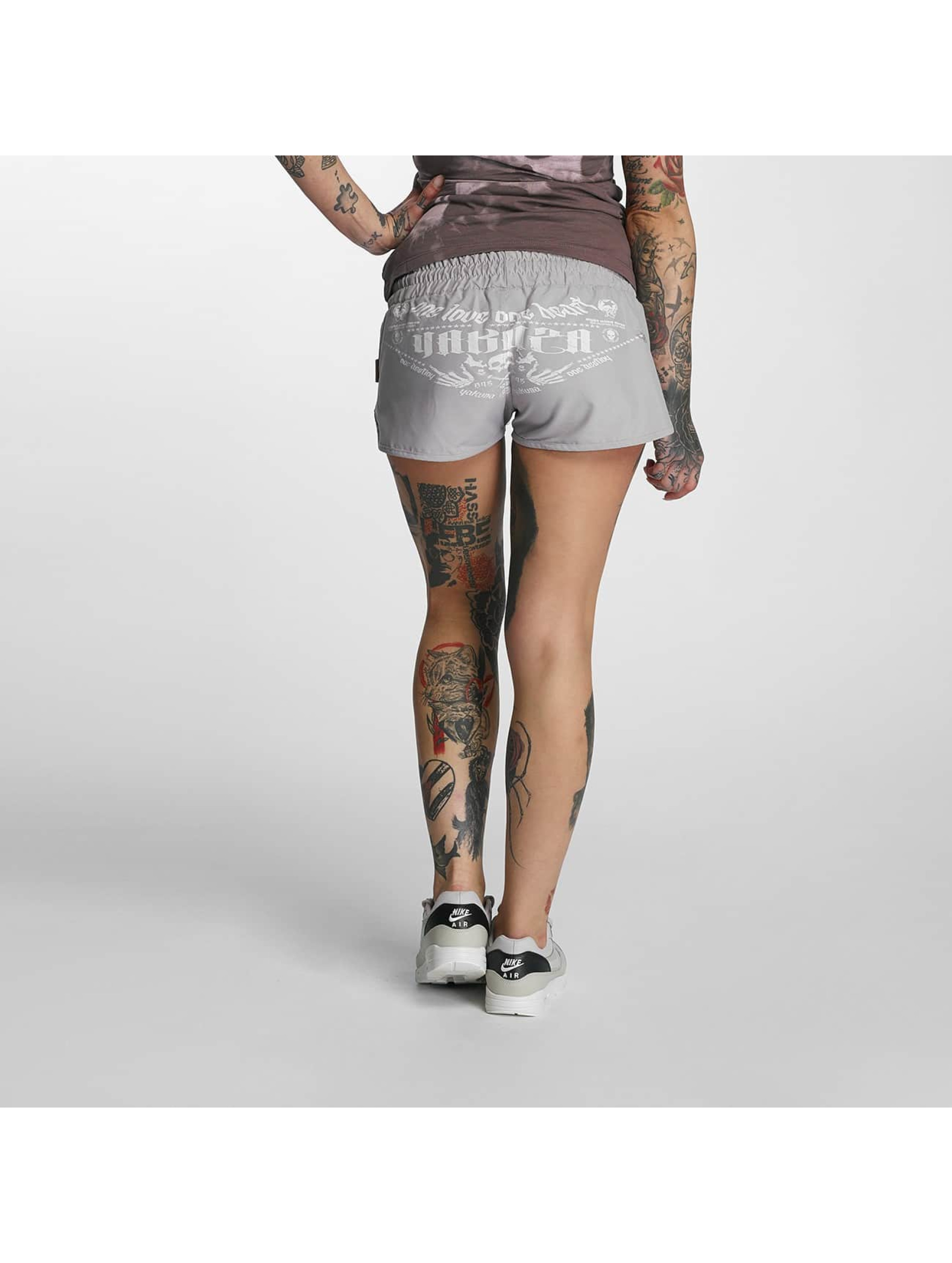 Yakuza Shorts Sweat grau