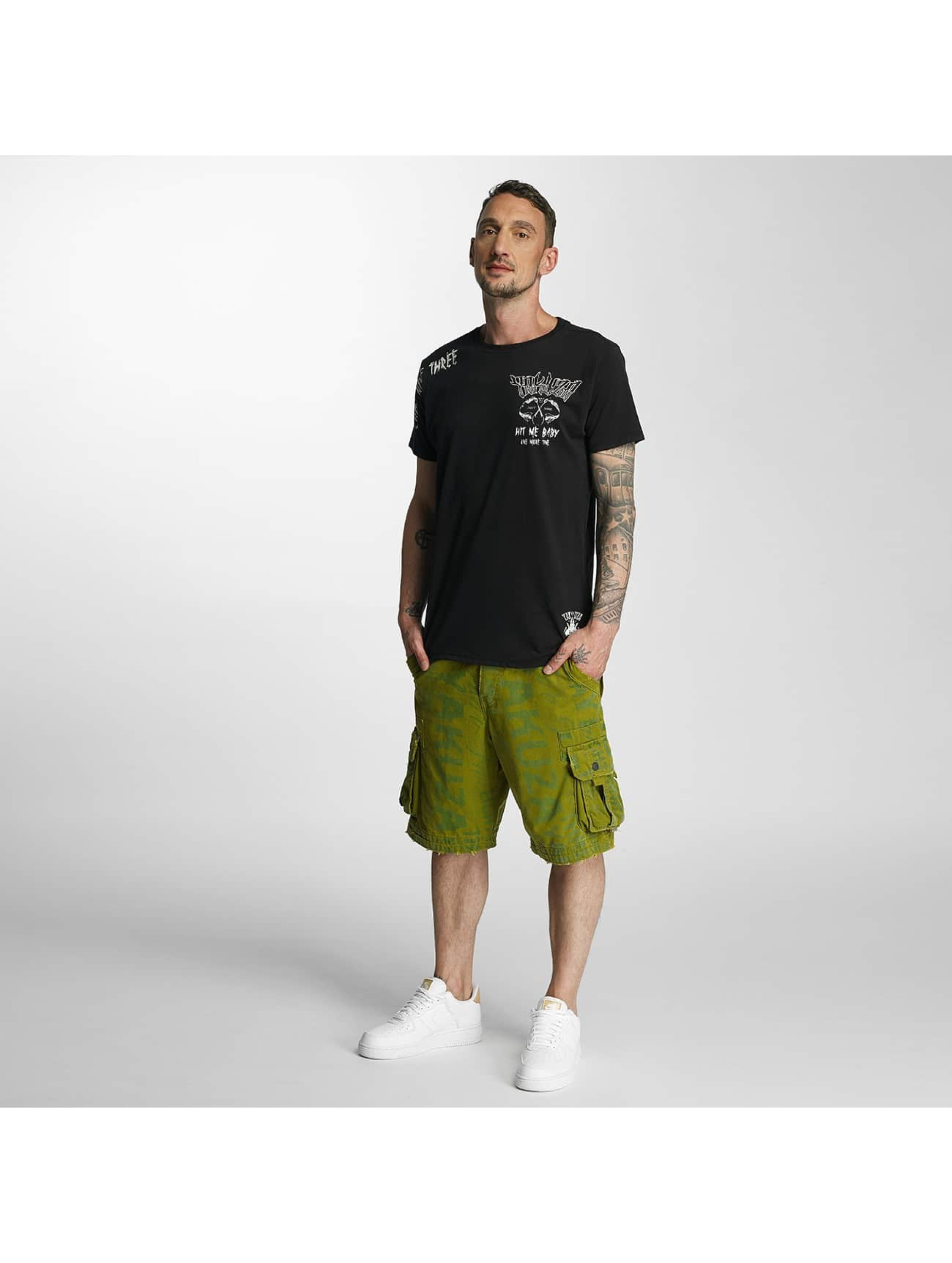 Yakuza Shorts Allover Cargo grün