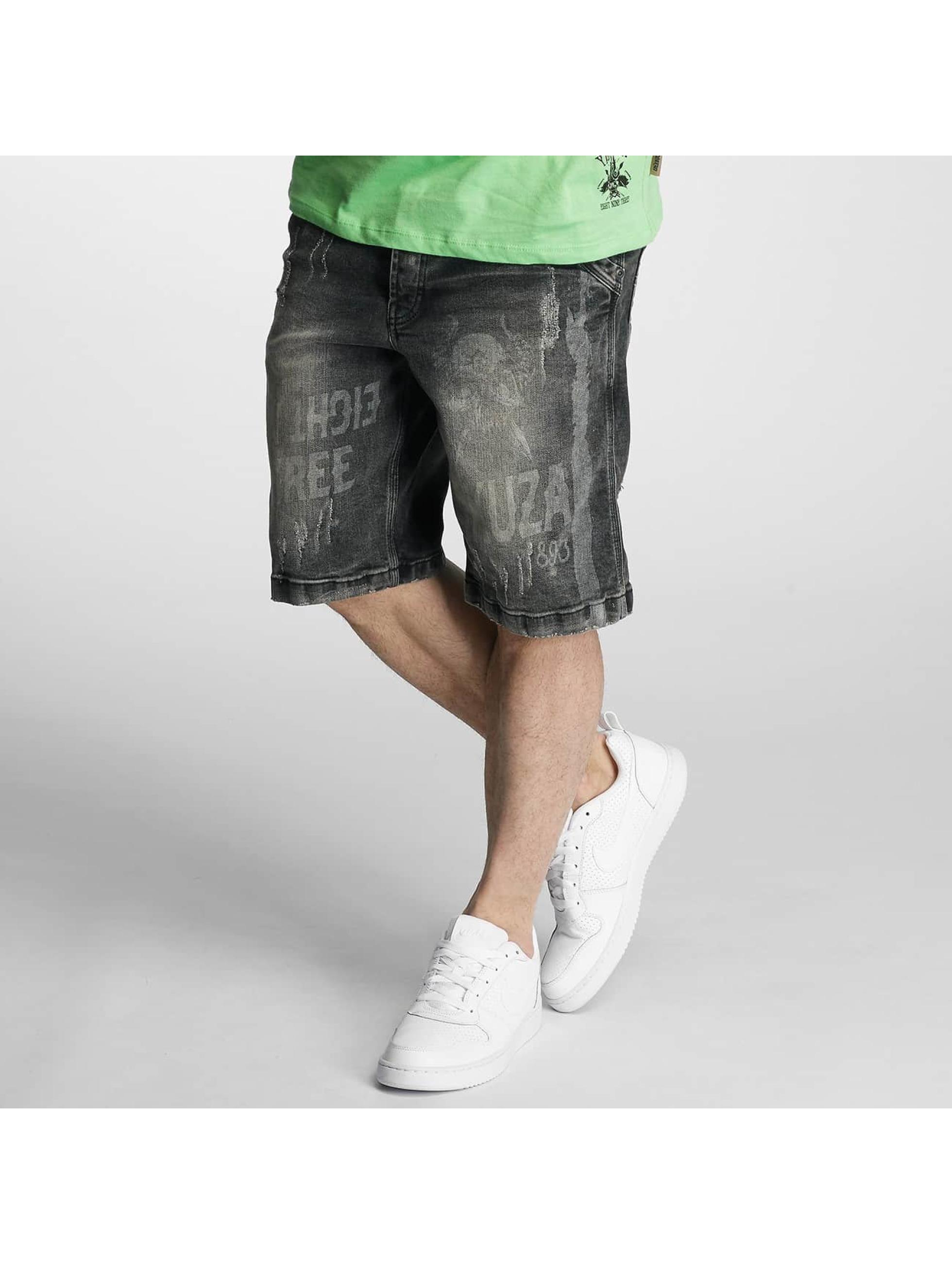 Yakuza Shorts Caught In A Circle schwarz