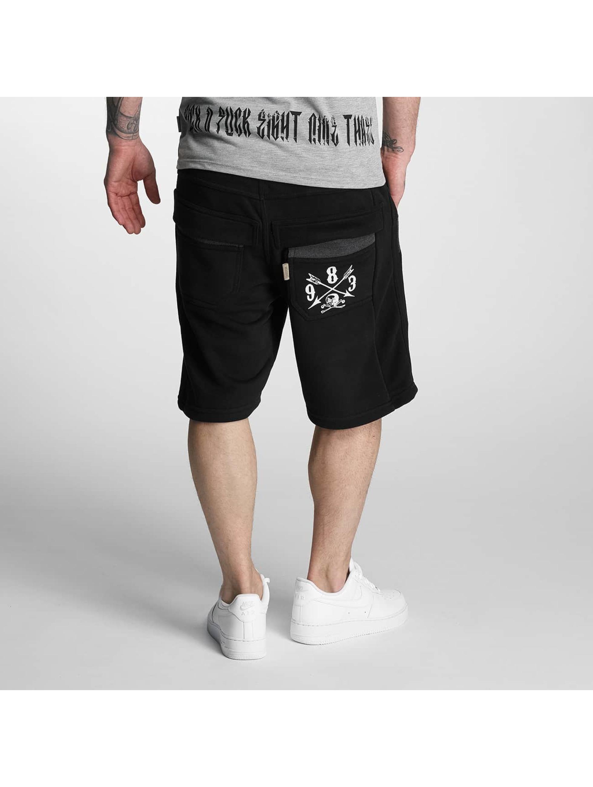 Yakuza Shorts Kanto schwarz