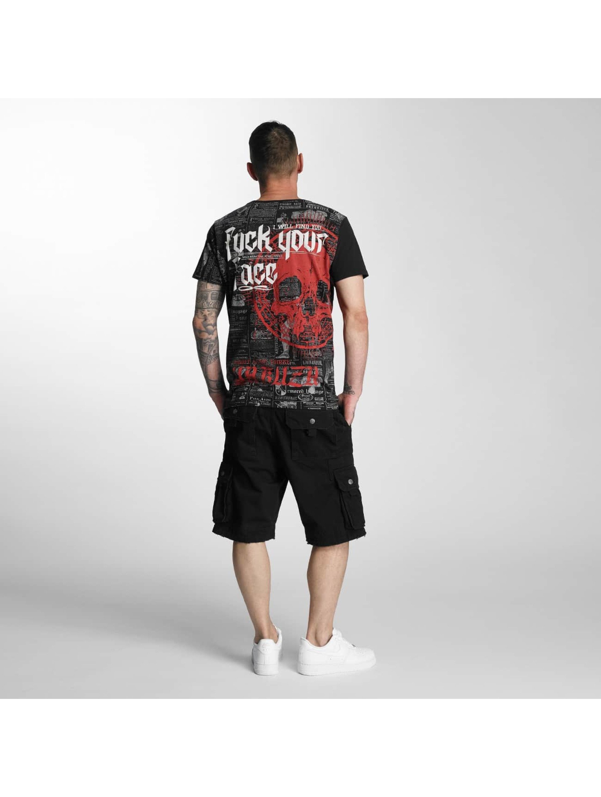 Yakuza Shorts Skull Label svart