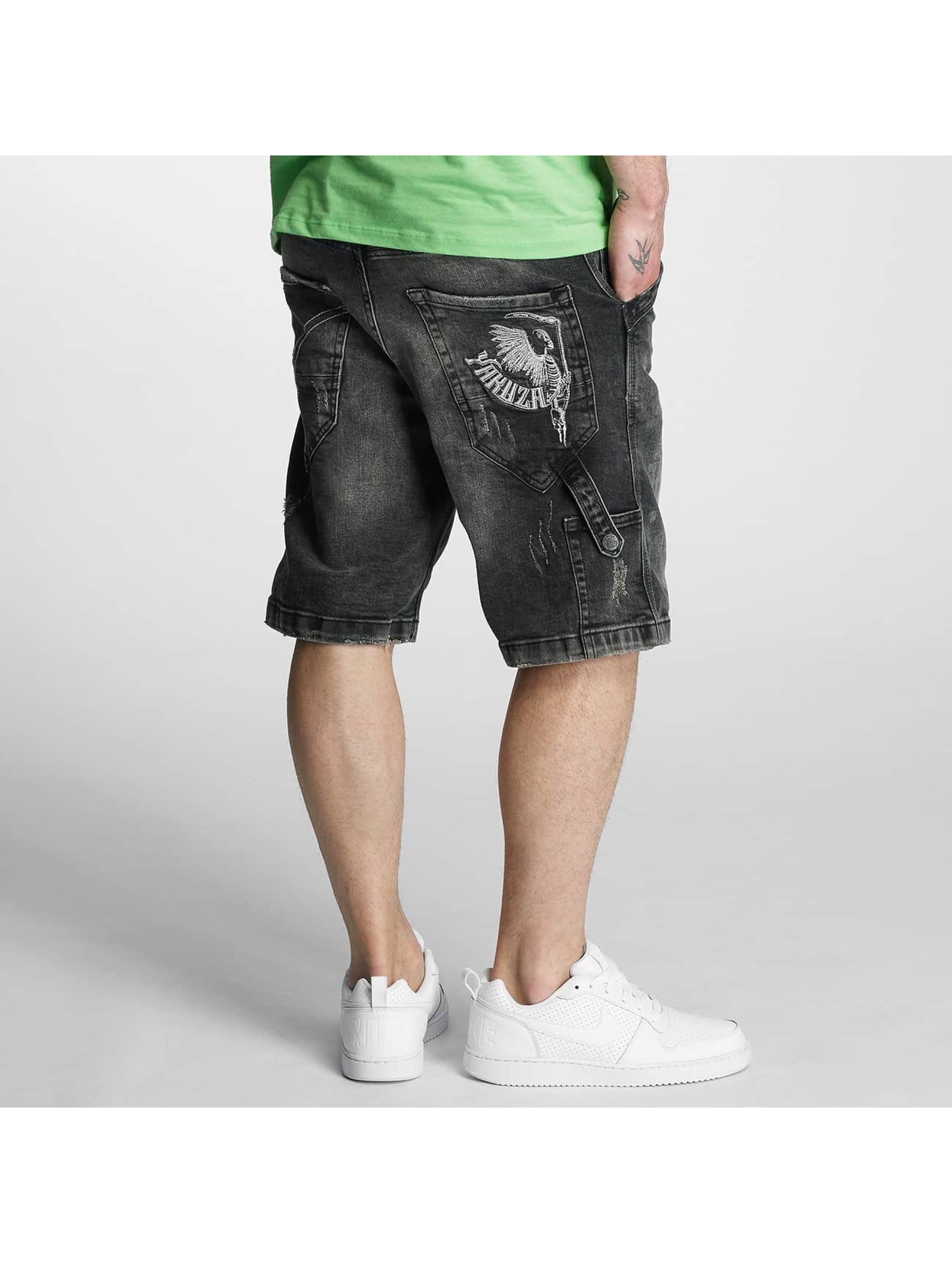 Yakuza Shorts Caught In A Circle svart