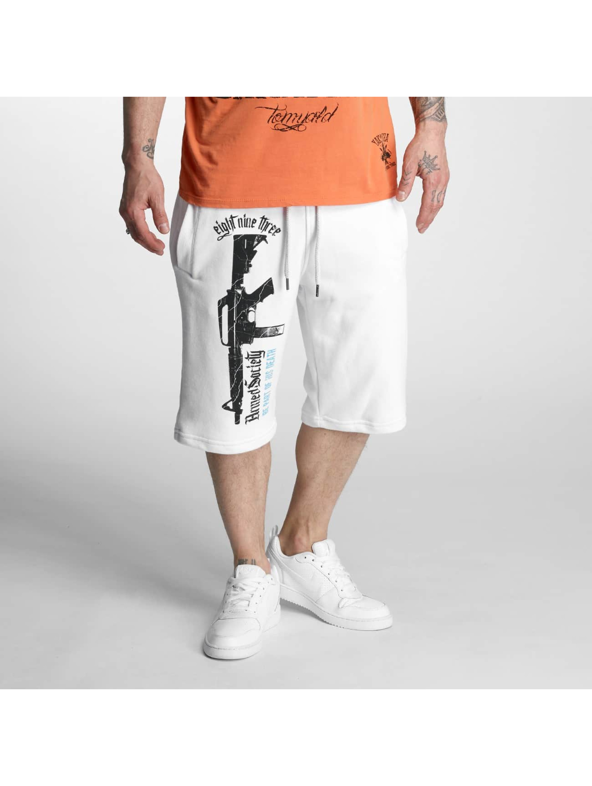 Yakuza Shorts Armed Society weiß