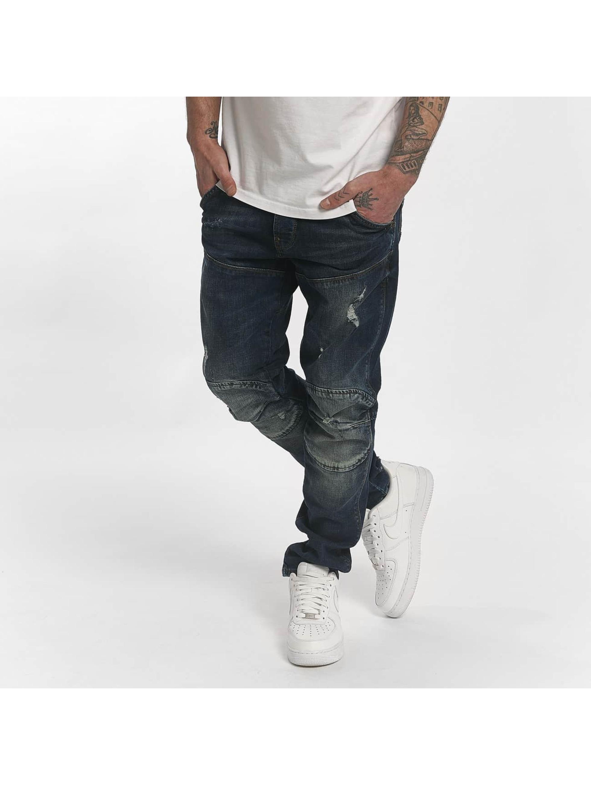 Yakuza Straight Fit Jeans 893 Straight blau