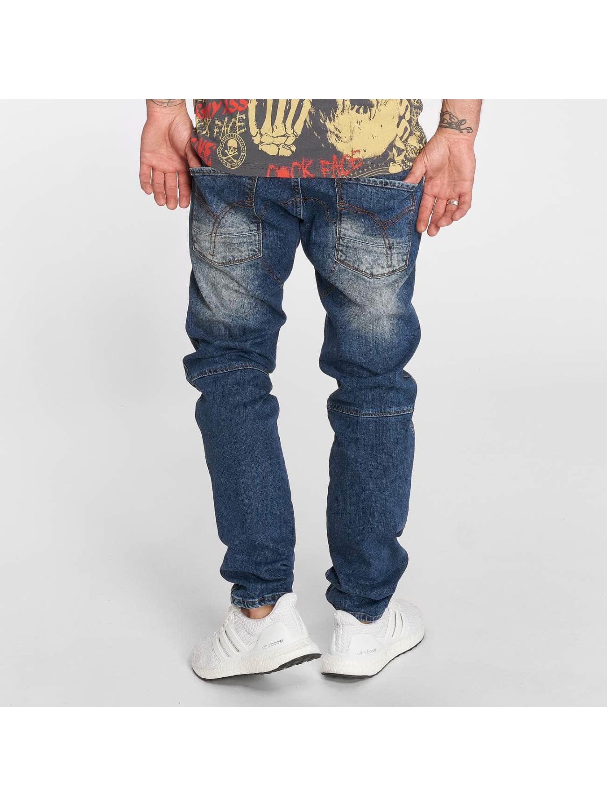 Yakuza Straight Fit Jeans Straight blau