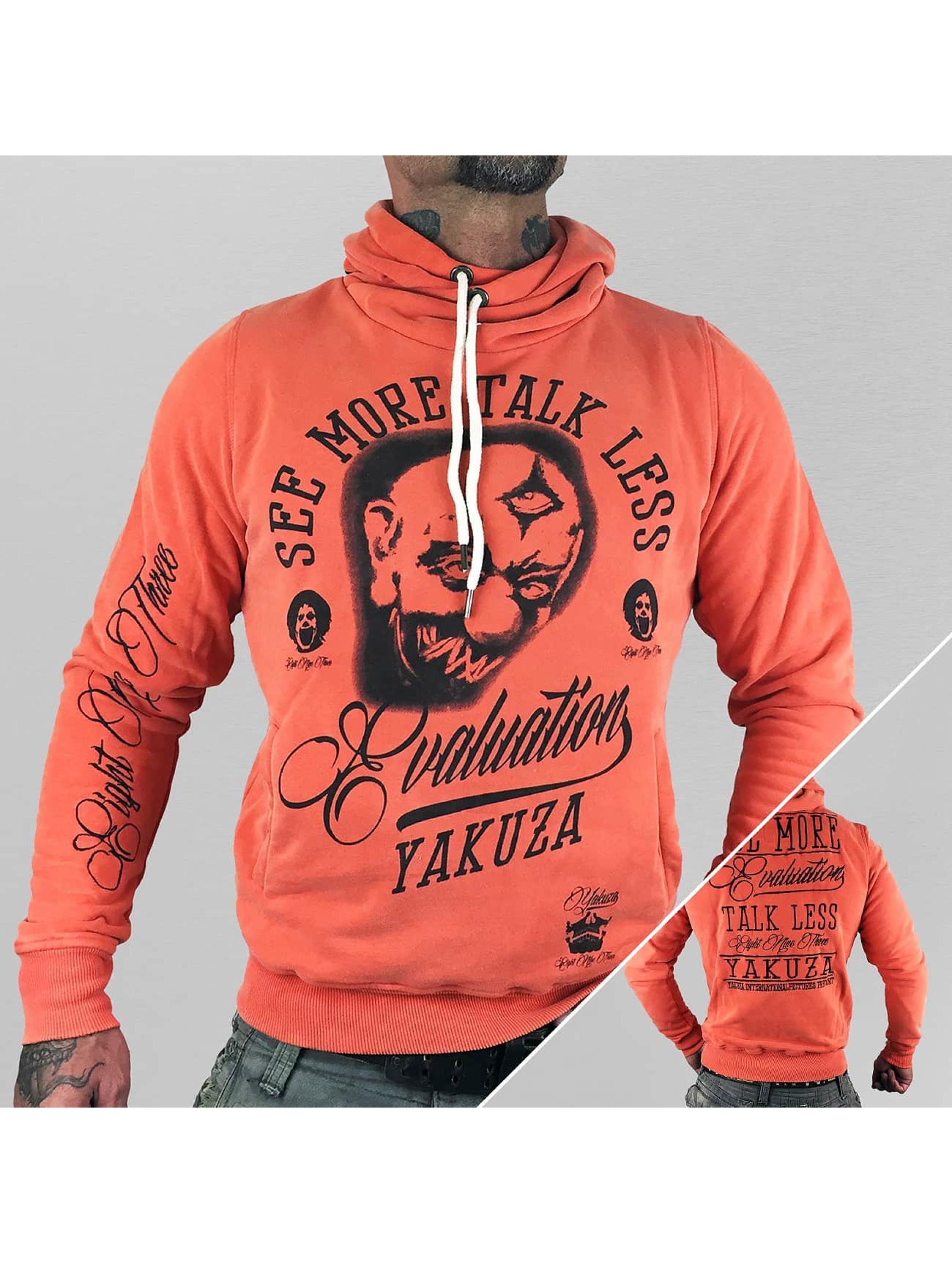 Yakuza Sweat capuche Evaluation orange