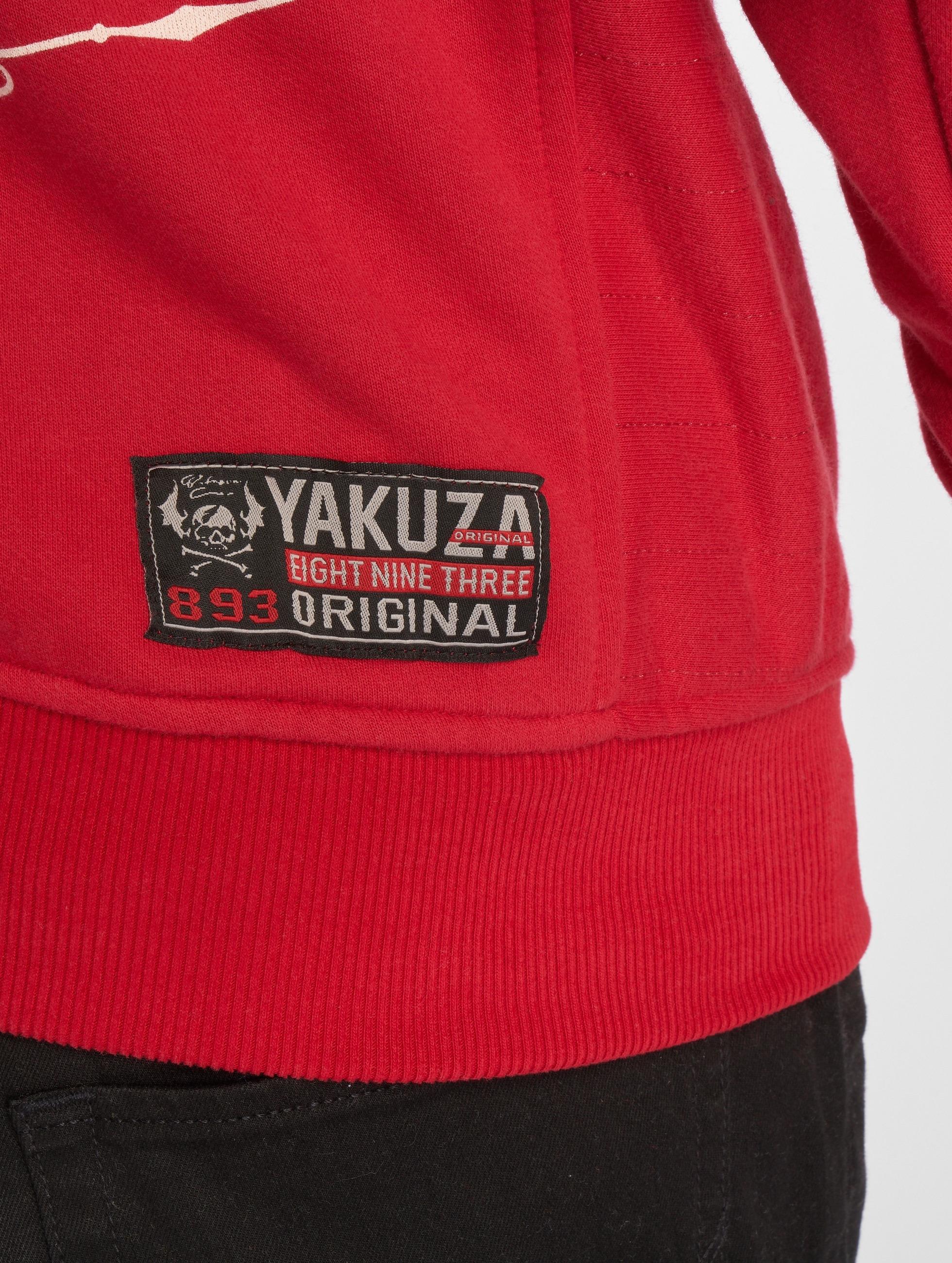 Yakuza Sweat capuche Undead rouge