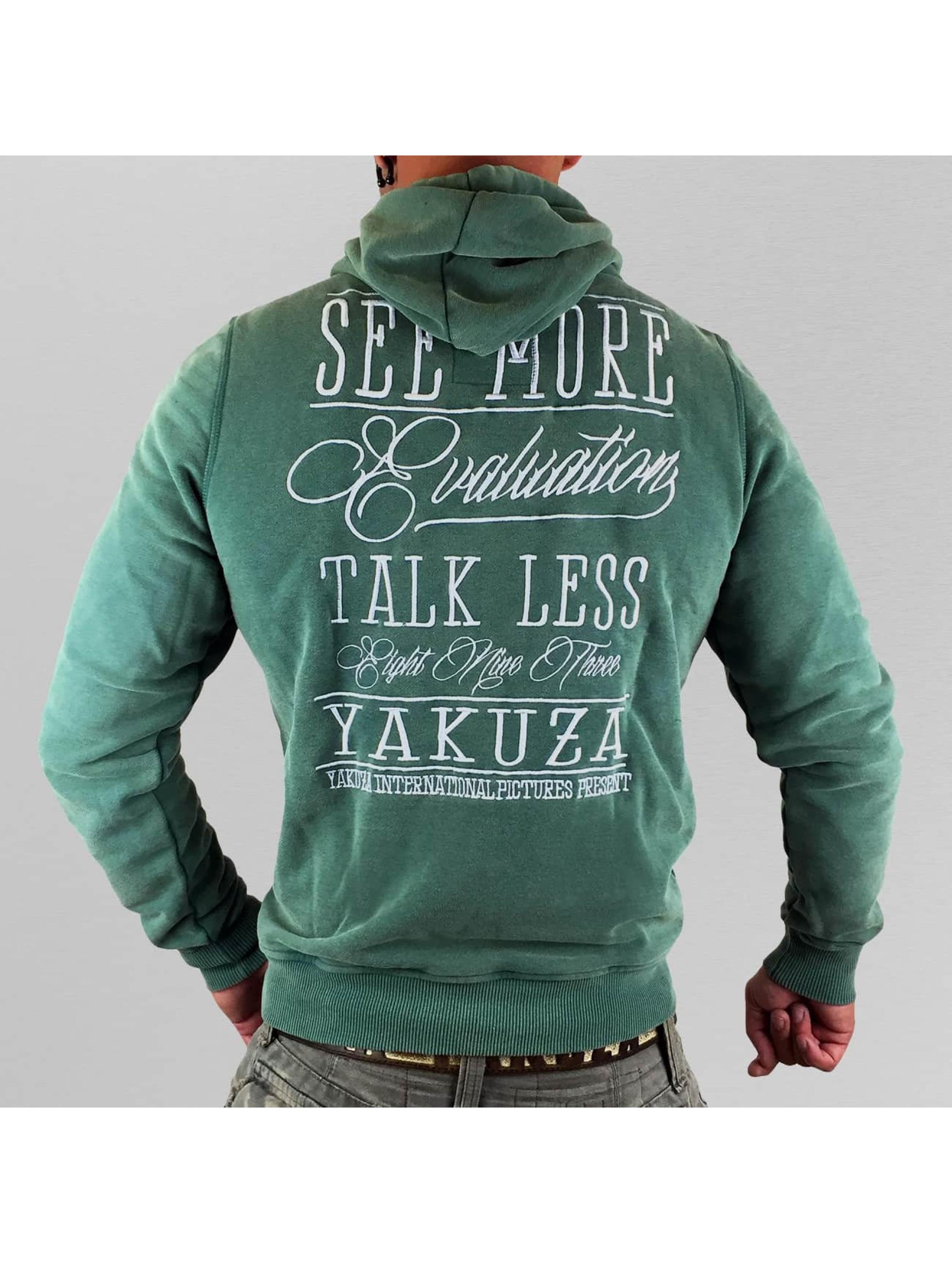 Yakuza Sweat capuche Evaluation vert