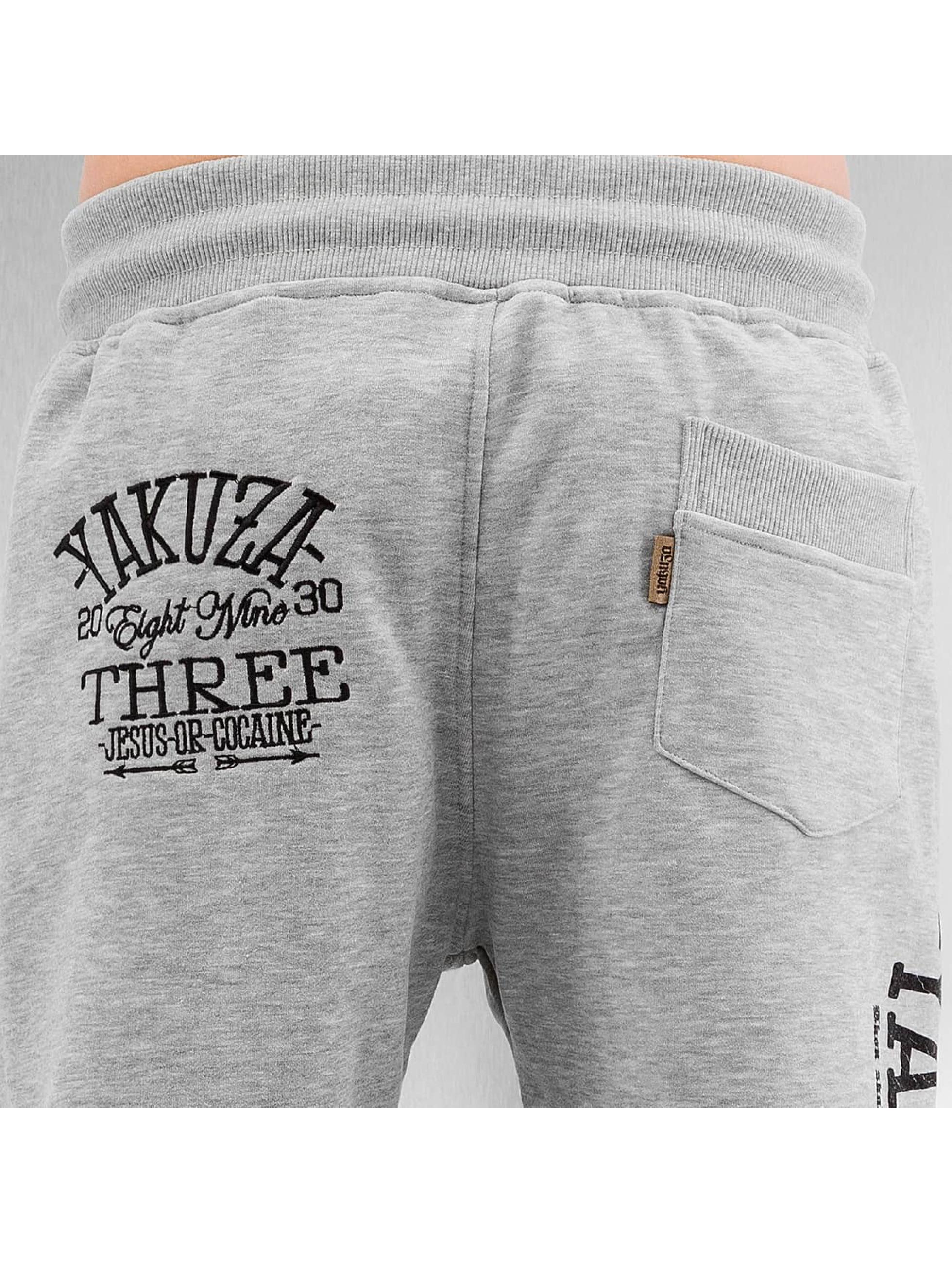 Yakuza Sweat Pant Jesus or Cocaine grey