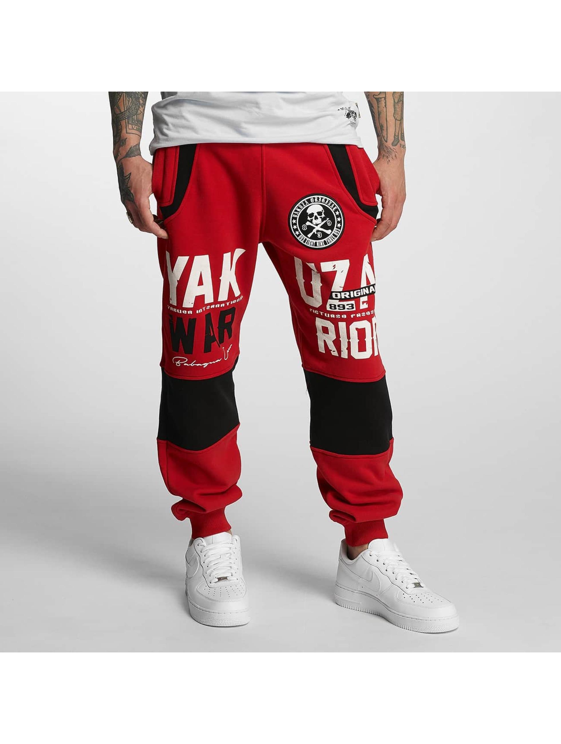 Yakuza Sweat Pant Warrior red
