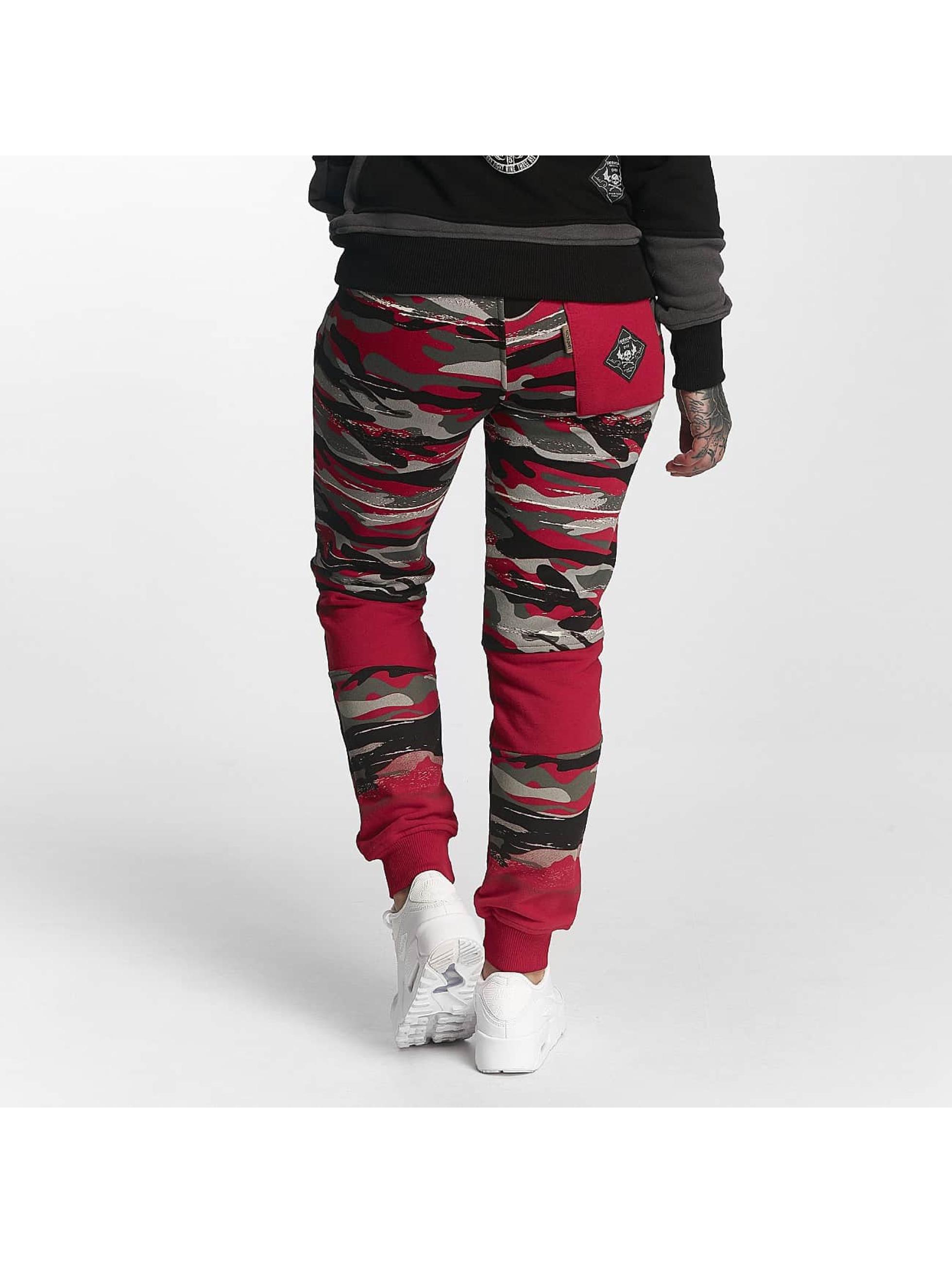 Yakuza Sweat Pant Military Lady red