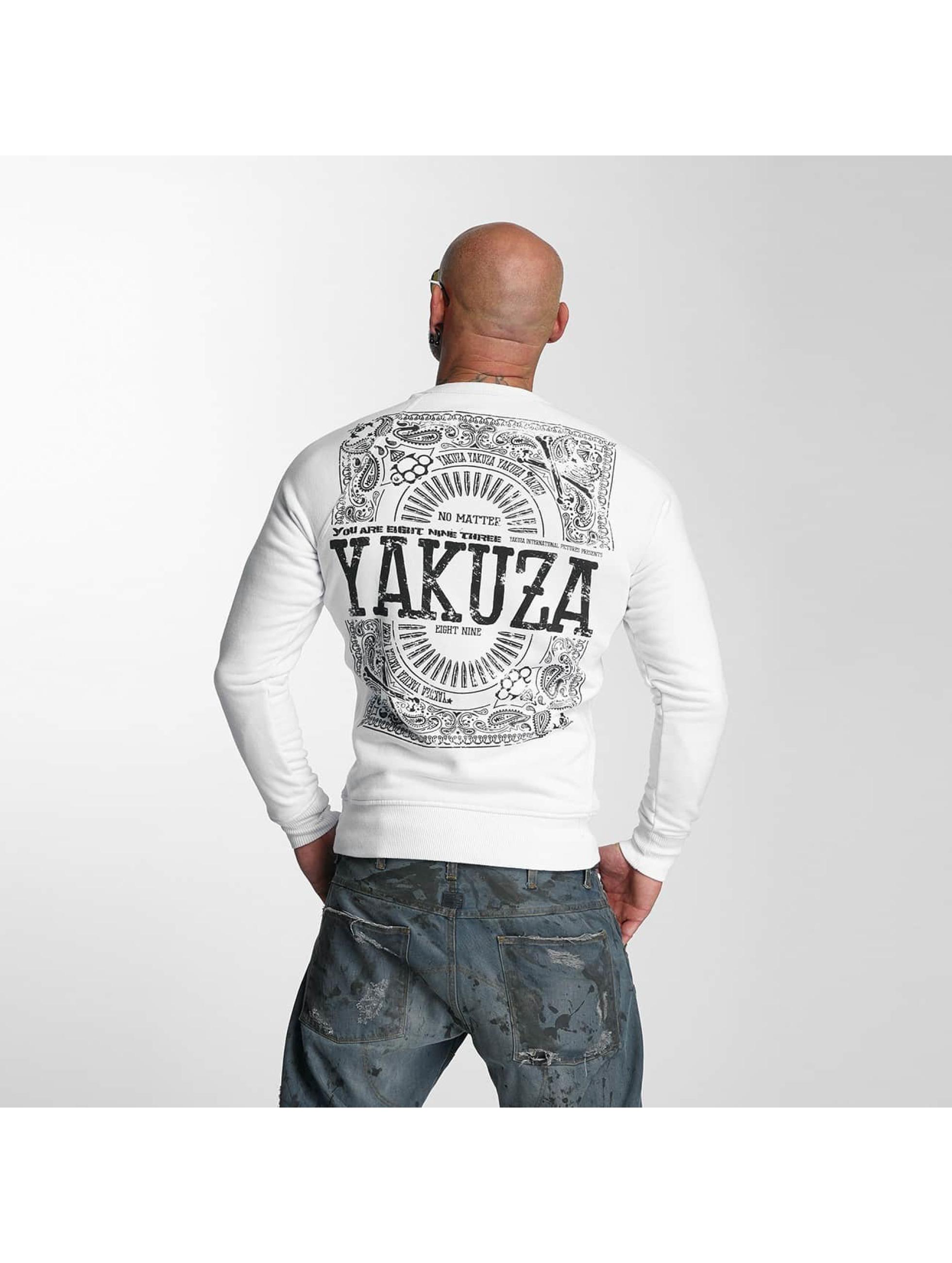 Yakuza Swetry No Matte bialy