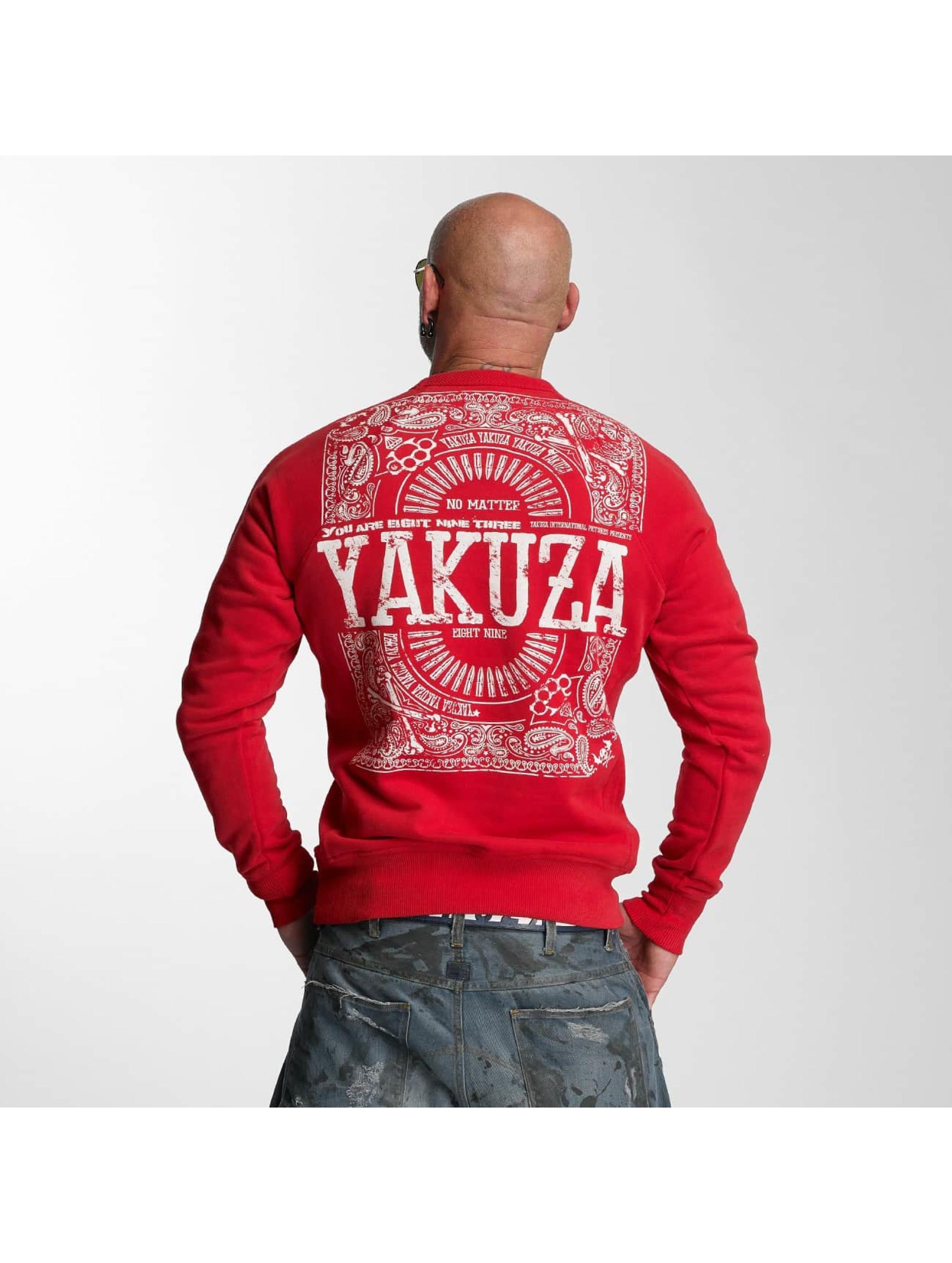 Yakuza Swetry No Matter czerwony