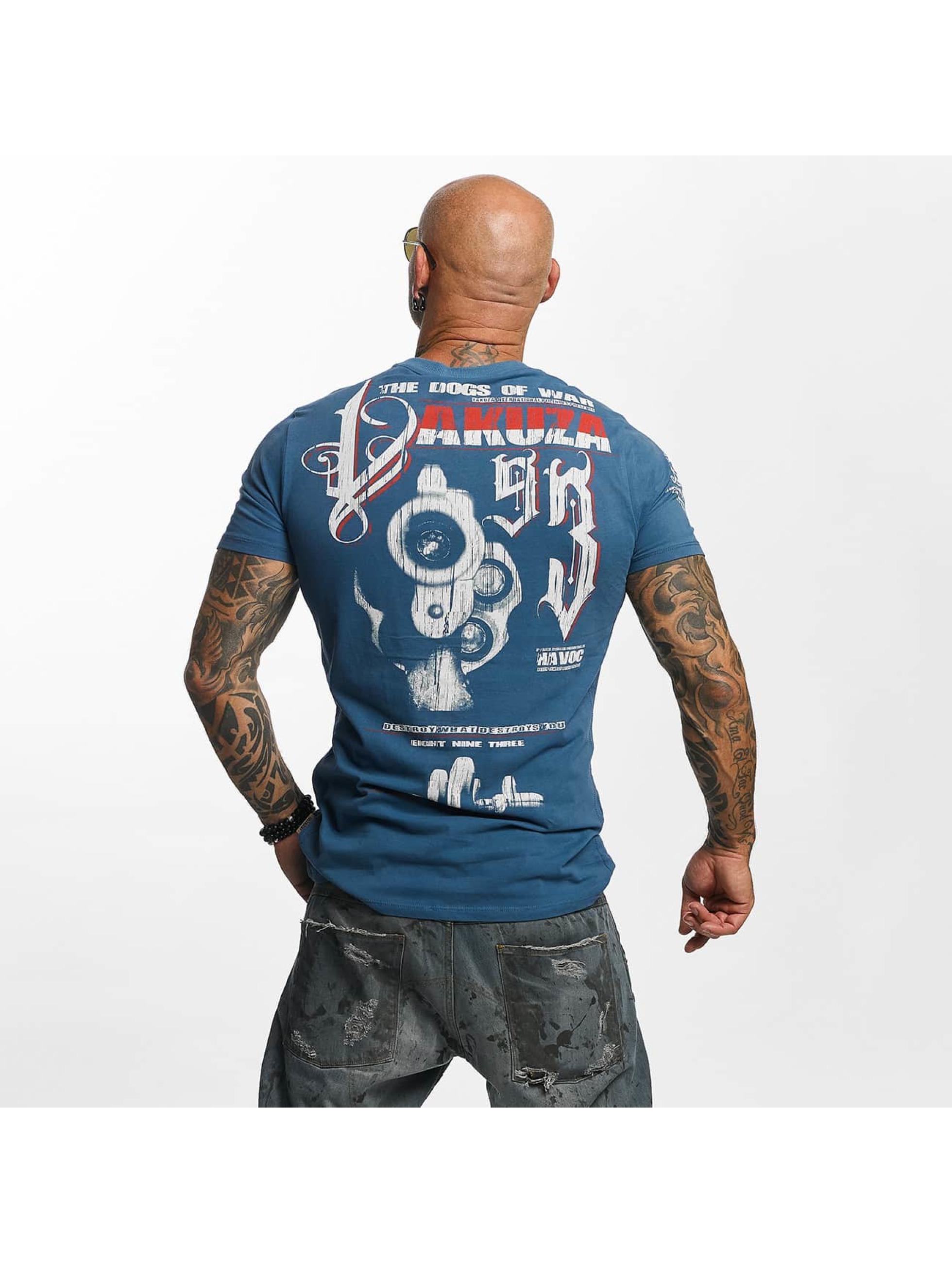 Yakuza T-paidat Havoc sininen