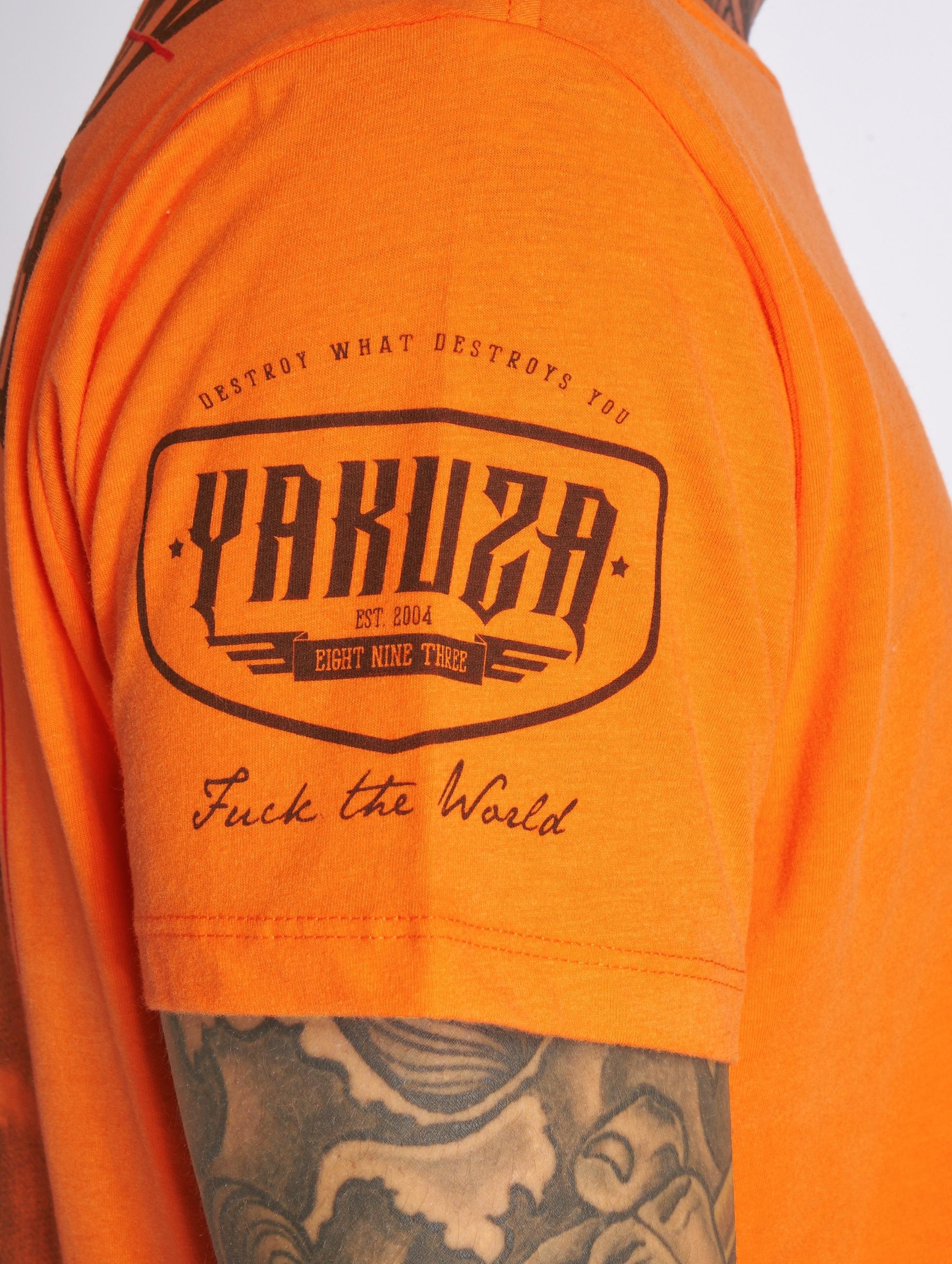 Yakuza T-shirt Shadowplay arancio