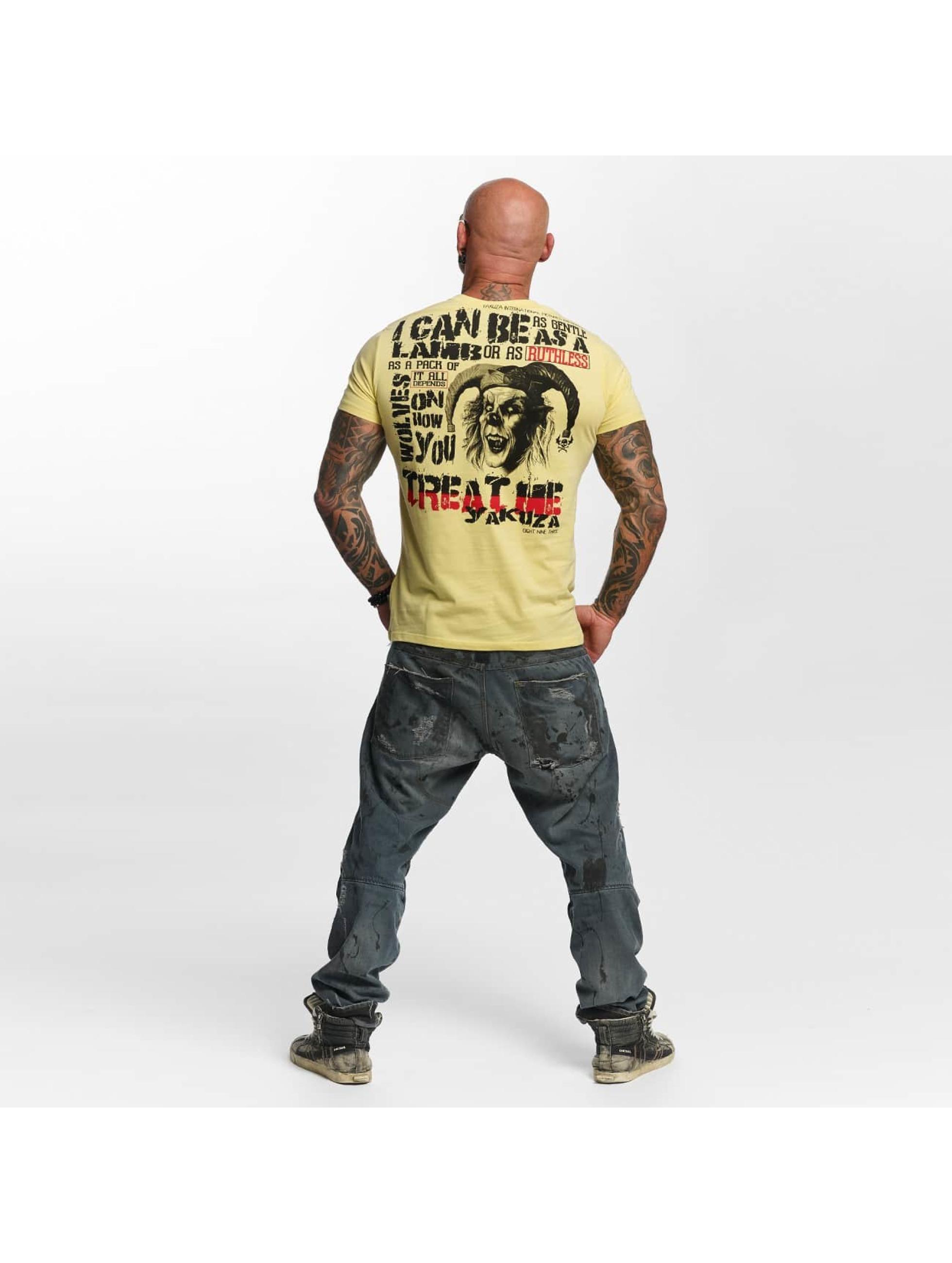 Yakuza T-Shirt Treat Me beige