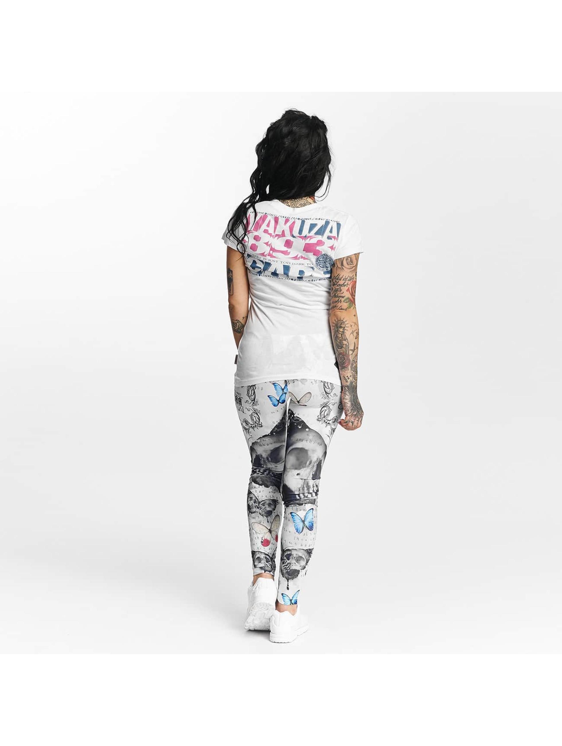 Yakuza T-shirt Care bianco