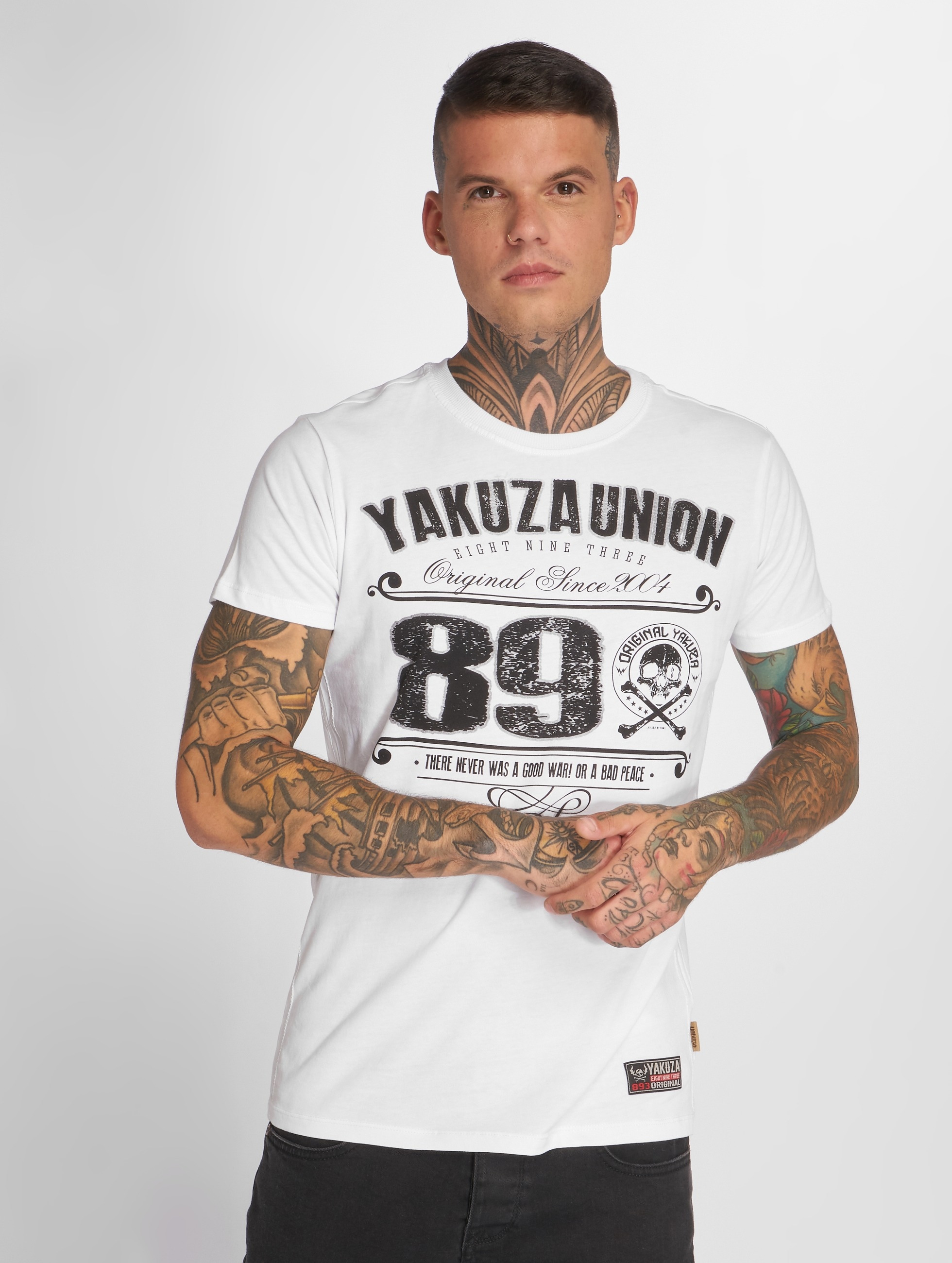 Yakuza T-shirt 893 Union bianco
