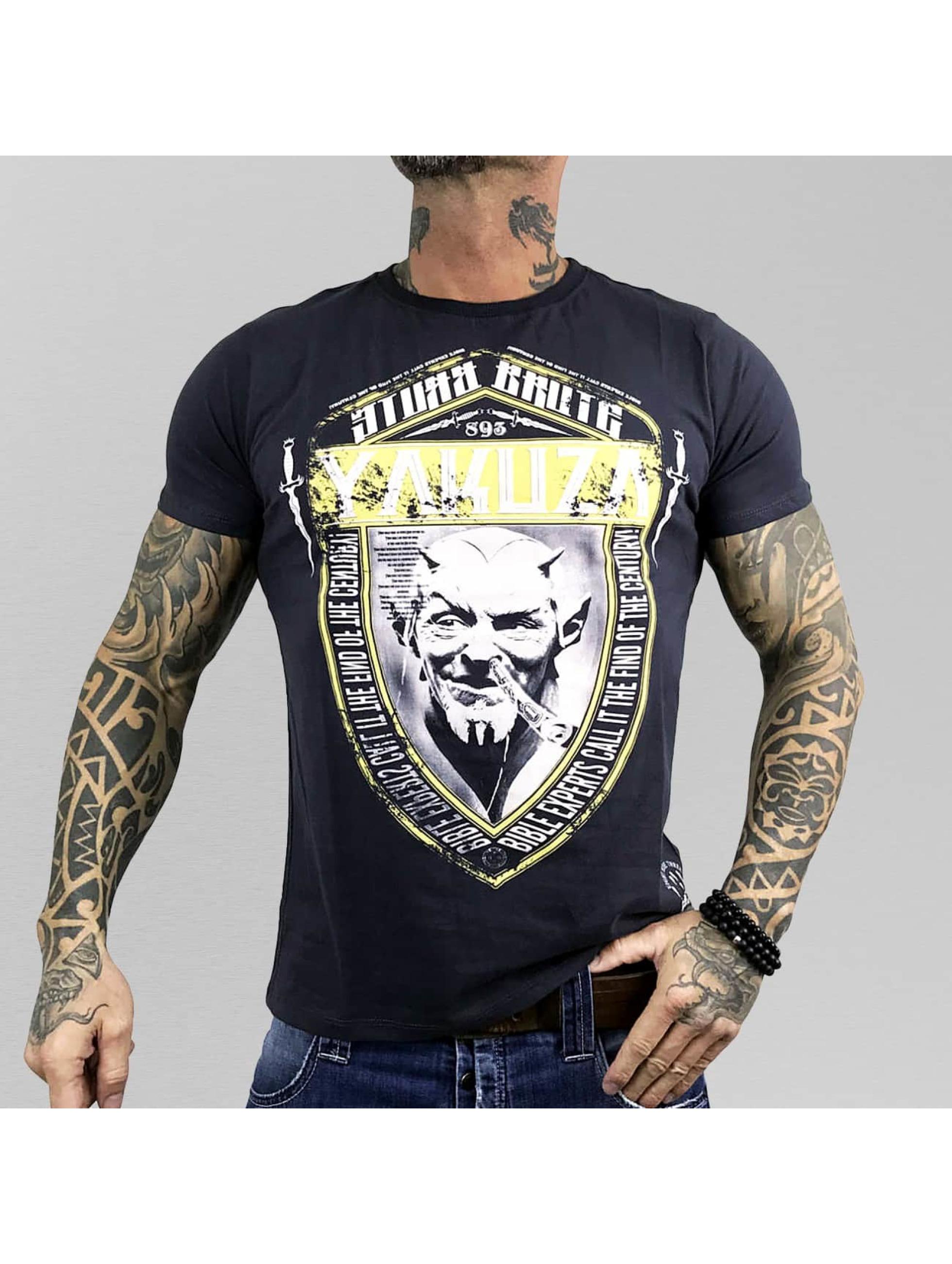 Yakuza T-Shirt Brute Devil blau