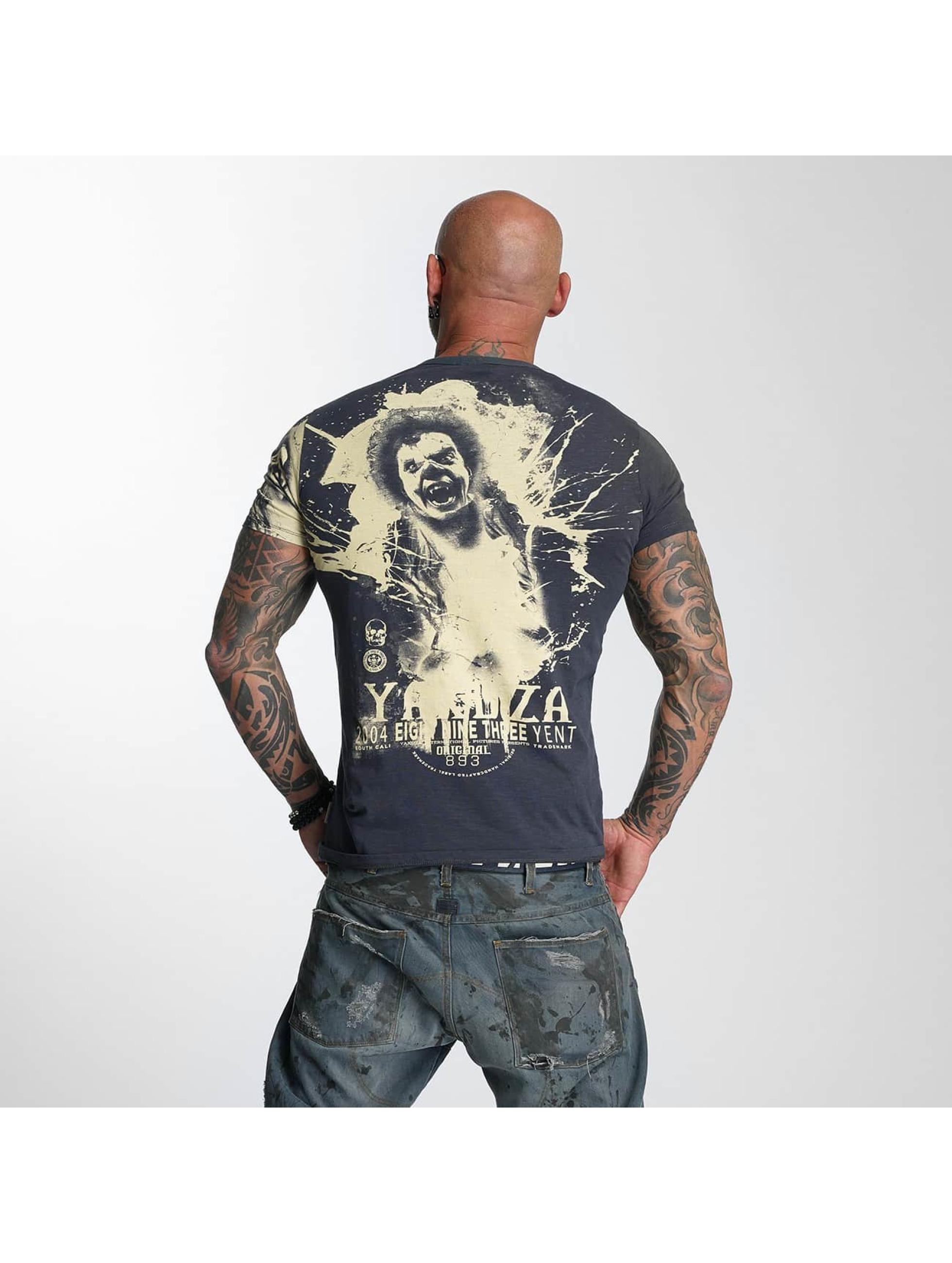 Yakuza T-Shirt Yent blau