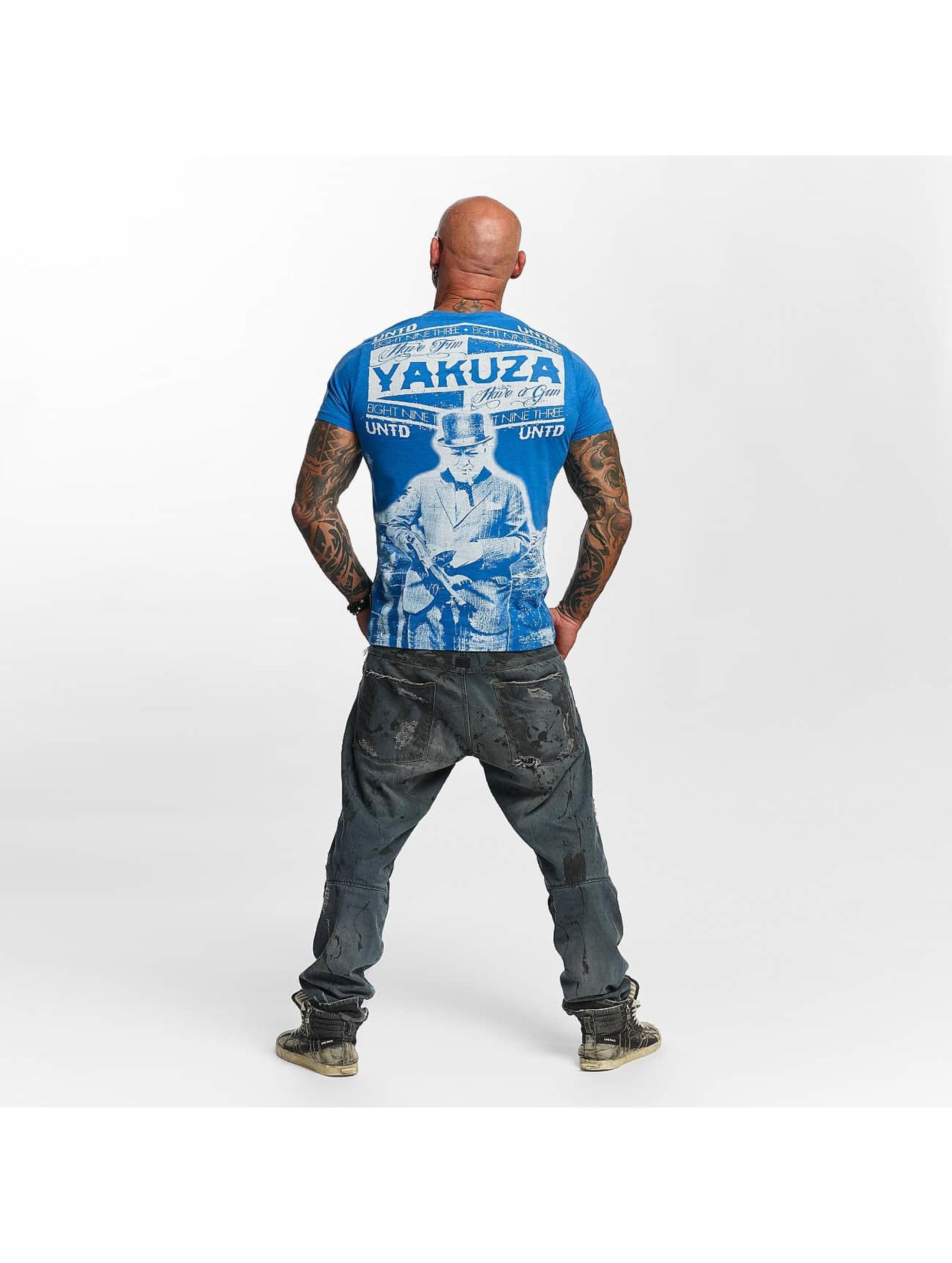 Yakuza T-Shirt Untd blau